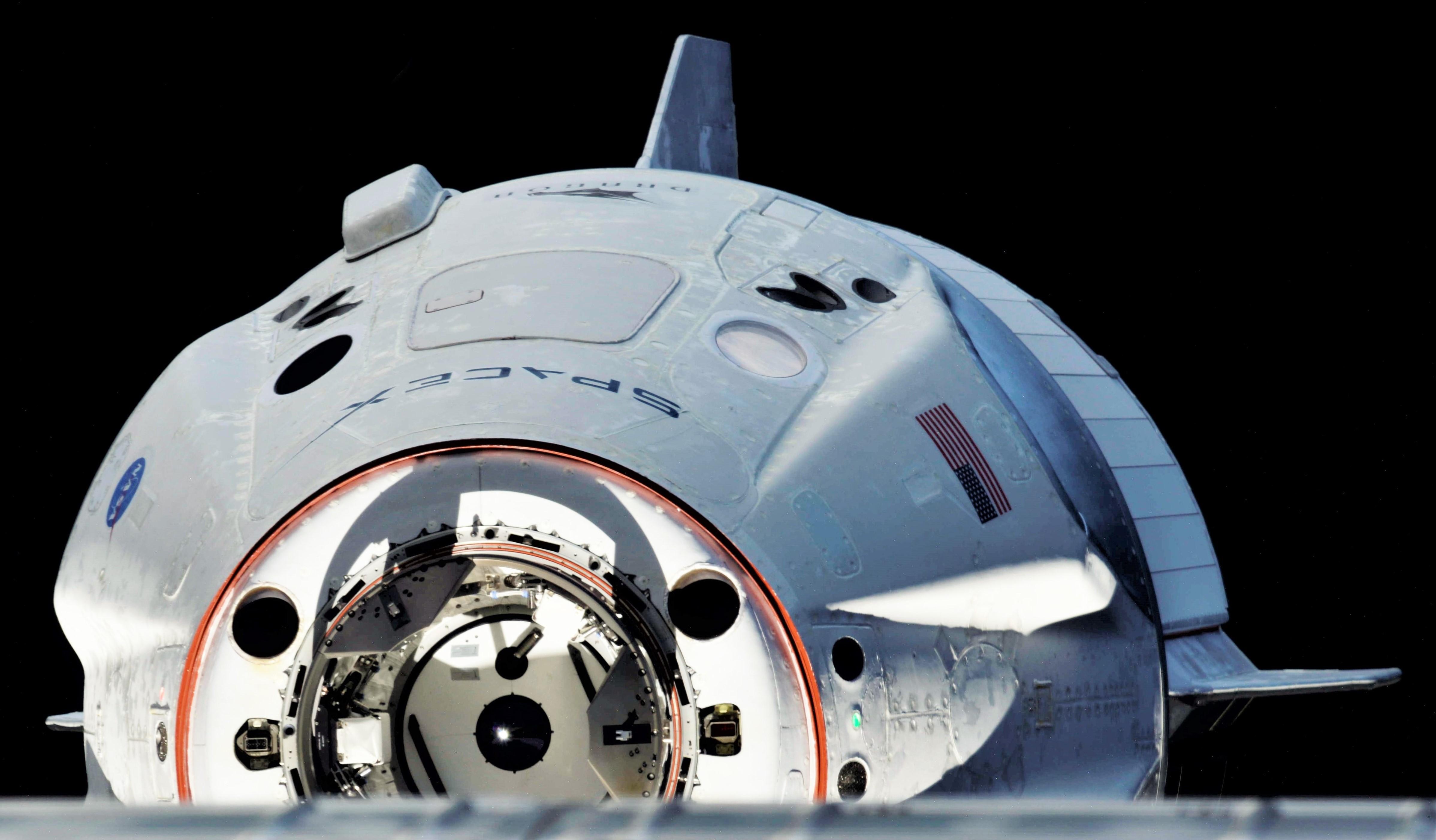 Crew Dragon DM-1 ISS arrival 030319 (Oleg Kononenko) 2 edit 2