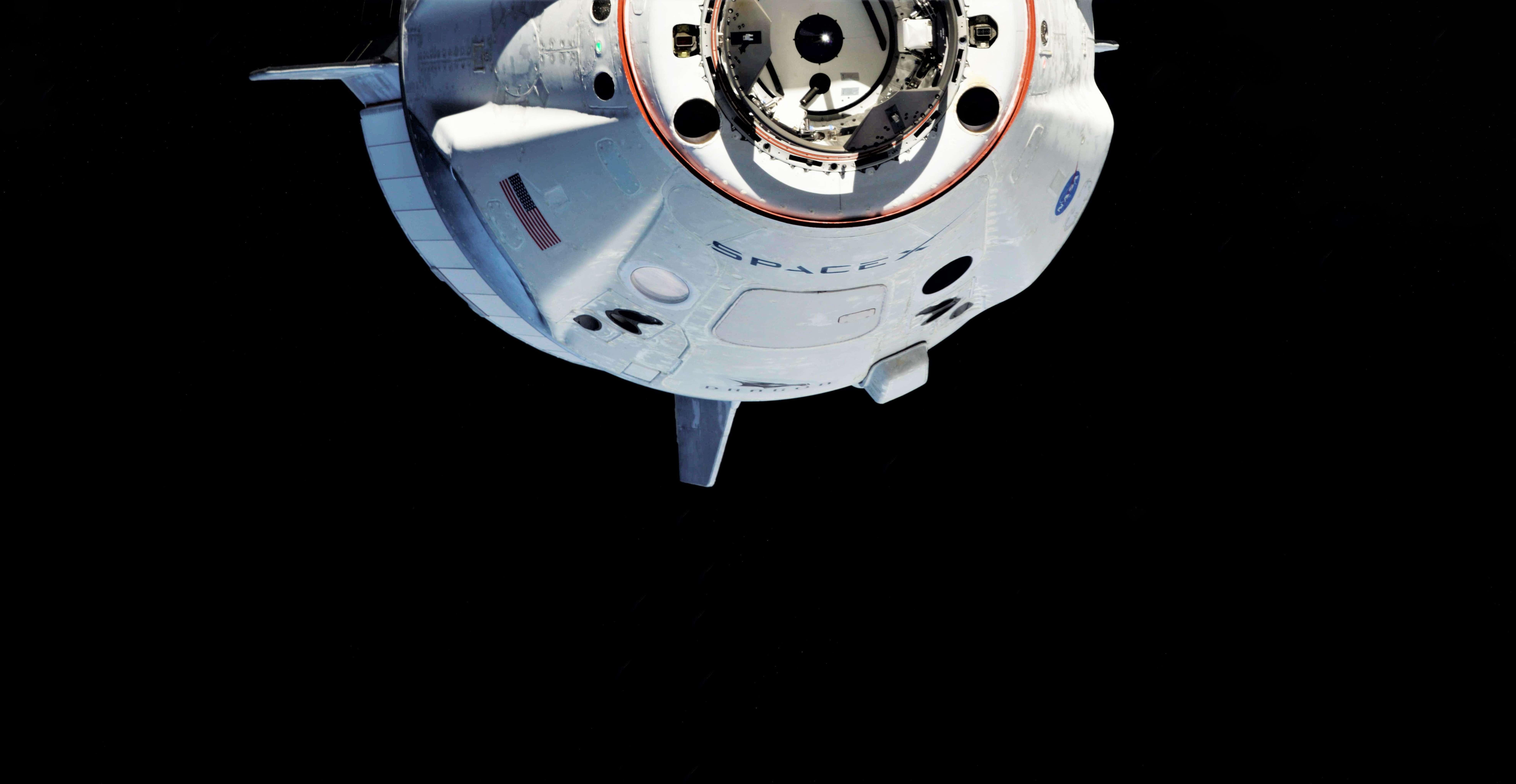 Crew Dragon DM-1 ISS arrival 030319 (Oleg Kononenko) 2 edit 5 (c)