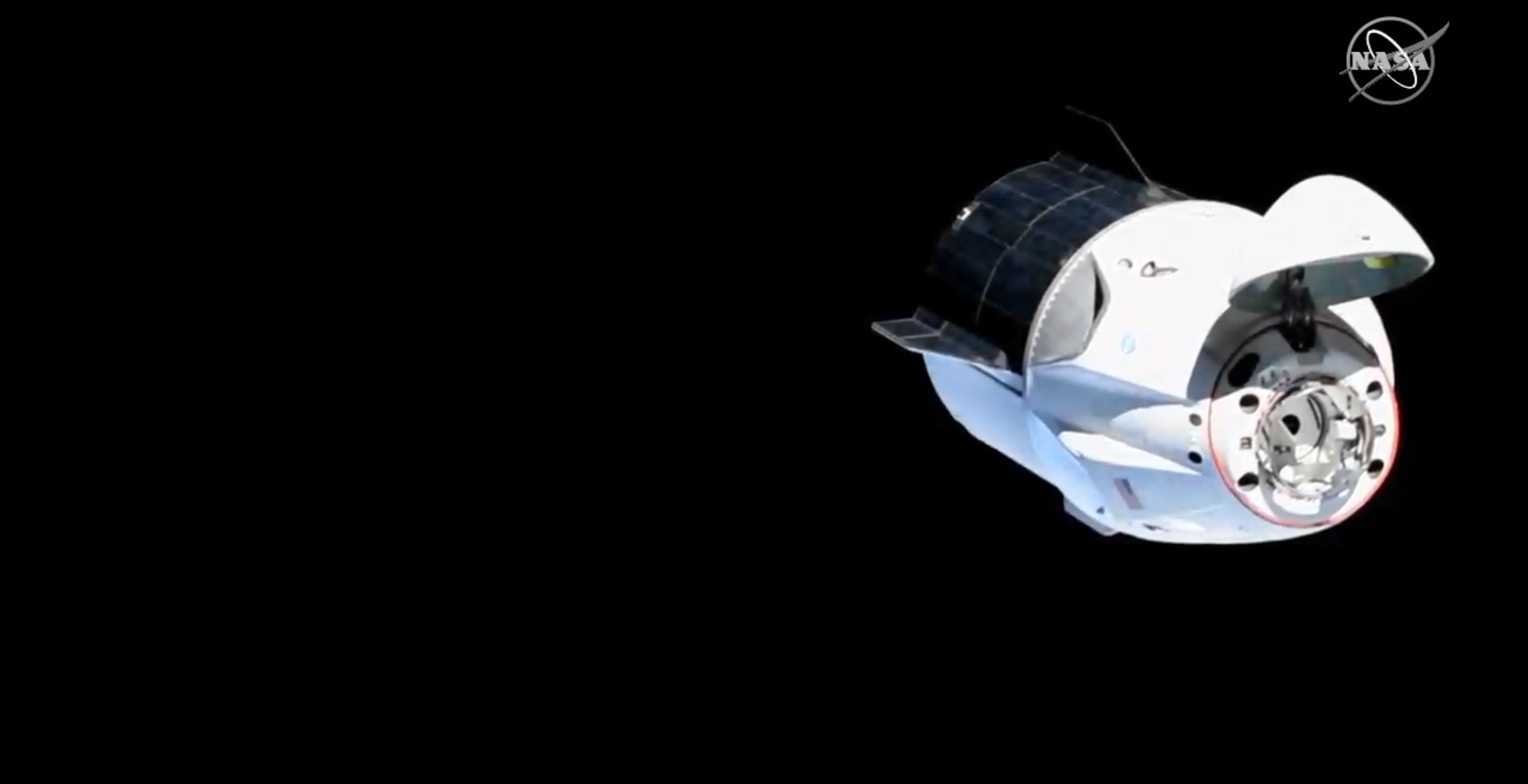 Crew Dragon DM-1 ISS arrival 030319 (SpaceX) 7