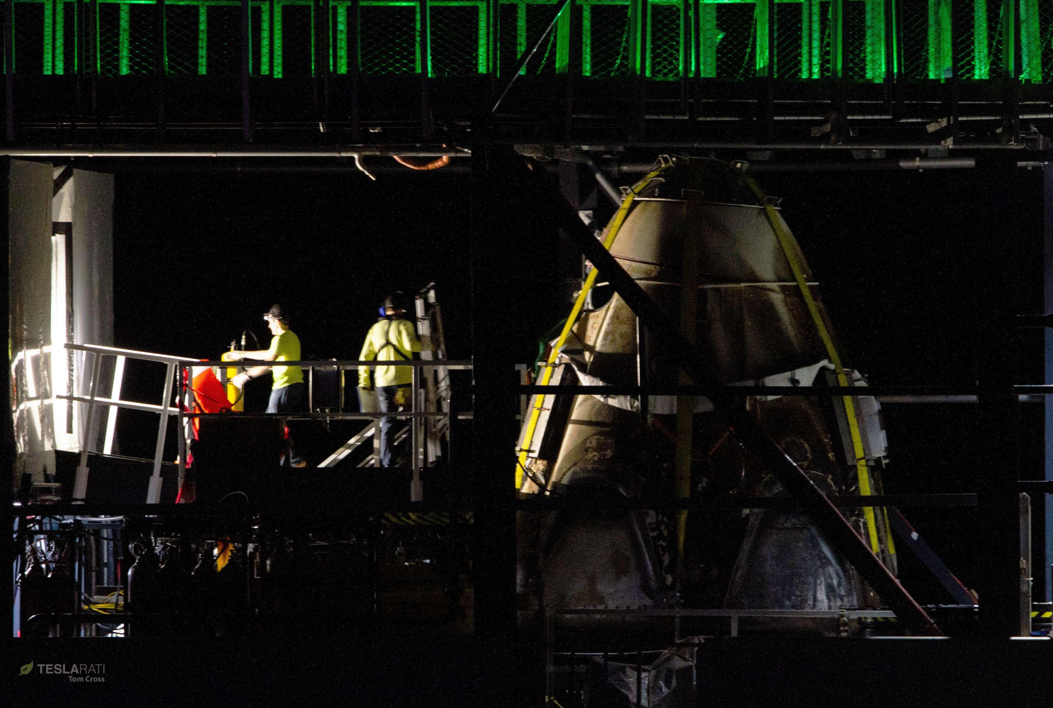 Crew Dragon DM-1 capsule port return 031019 (Tom Cross) detail 7 (c)