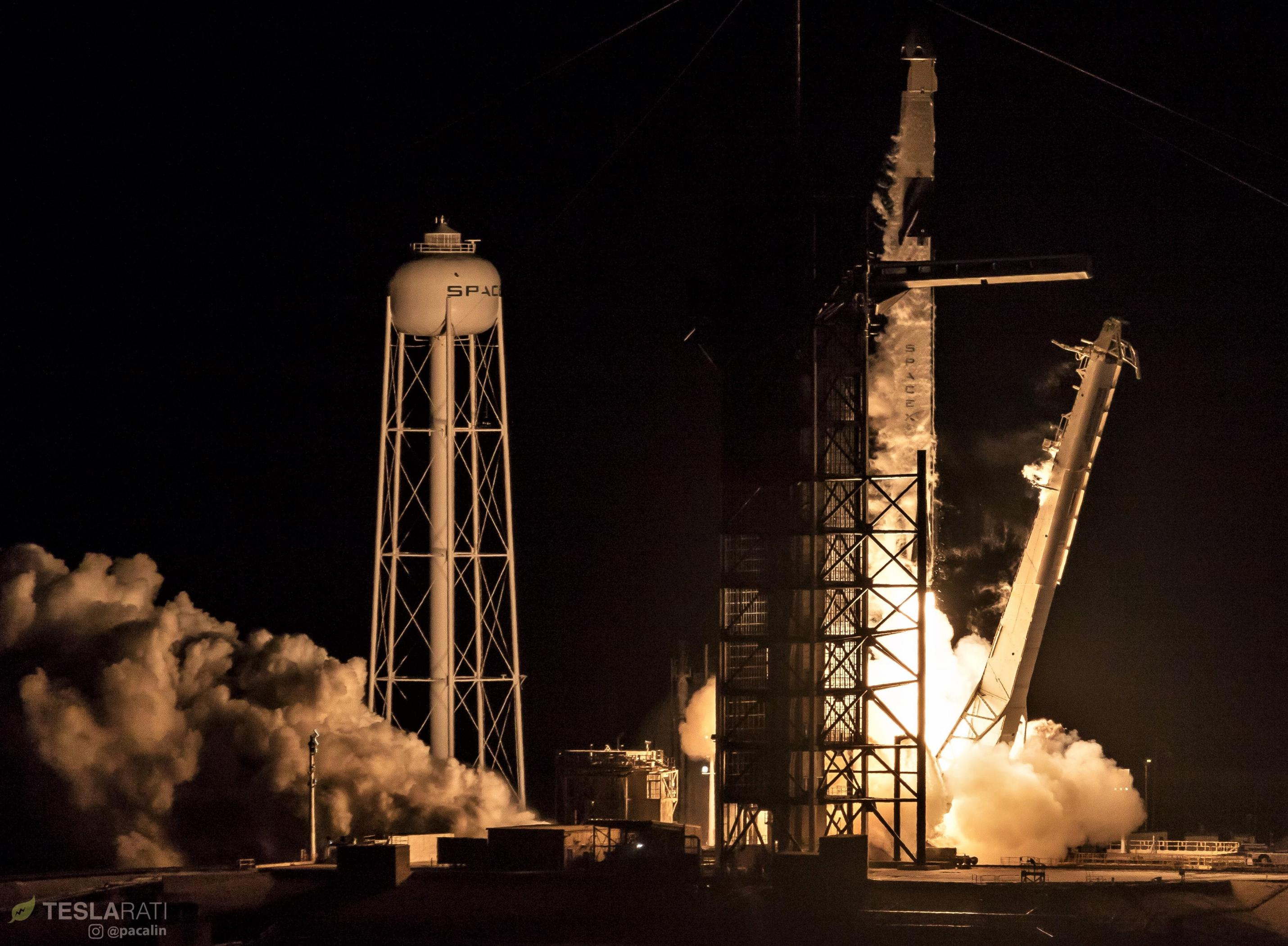 Crew Dragon Falcon 9 B1051 DM-1 liftoff 030219 (Pauline Acalin) 1 edit (c)