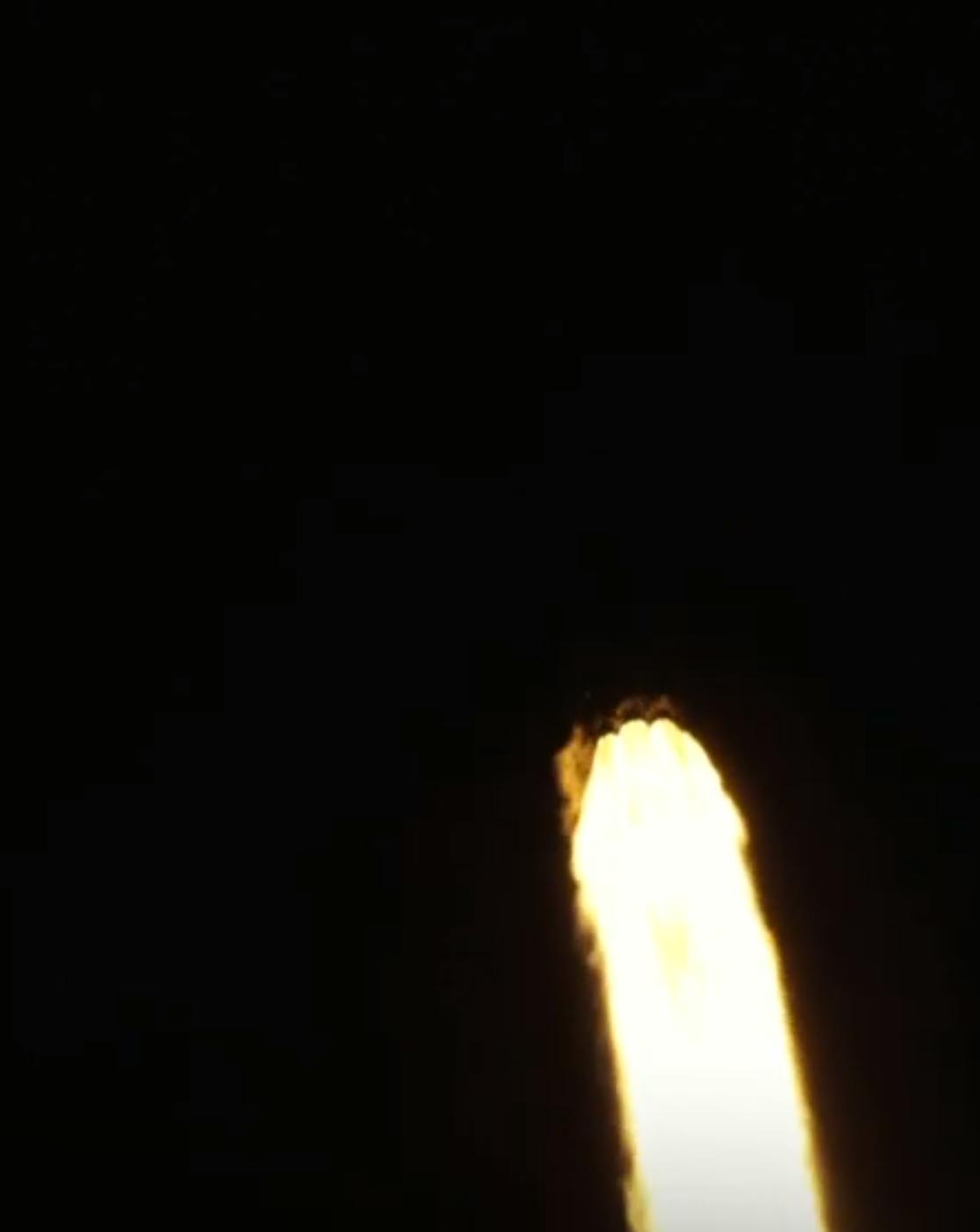 DM-1 Crew Dragon Falcon 9 B1051 launch (SpaceX) webcast 4