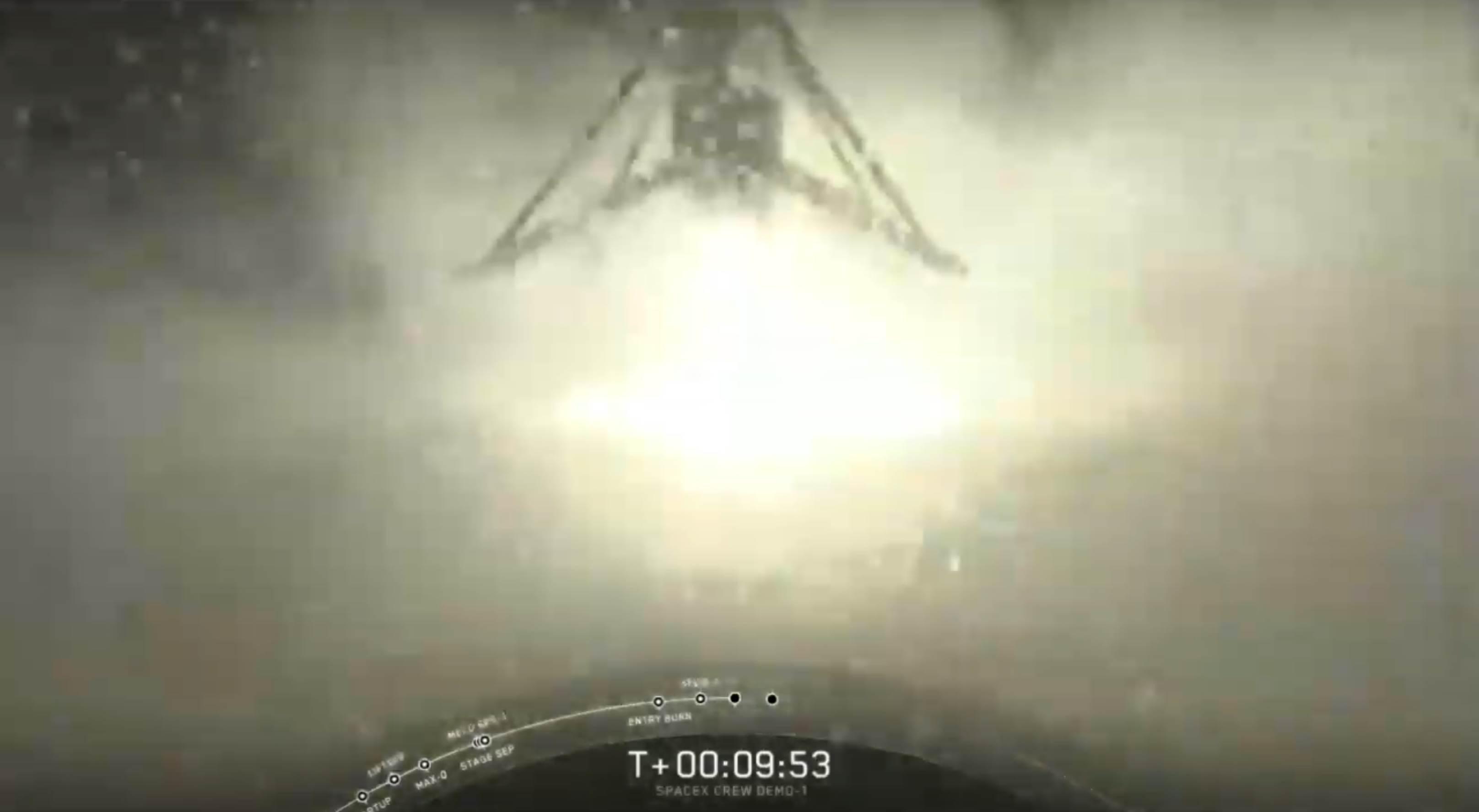 DM-1 Falcon 9 B1051 landing (SpaceX) 3