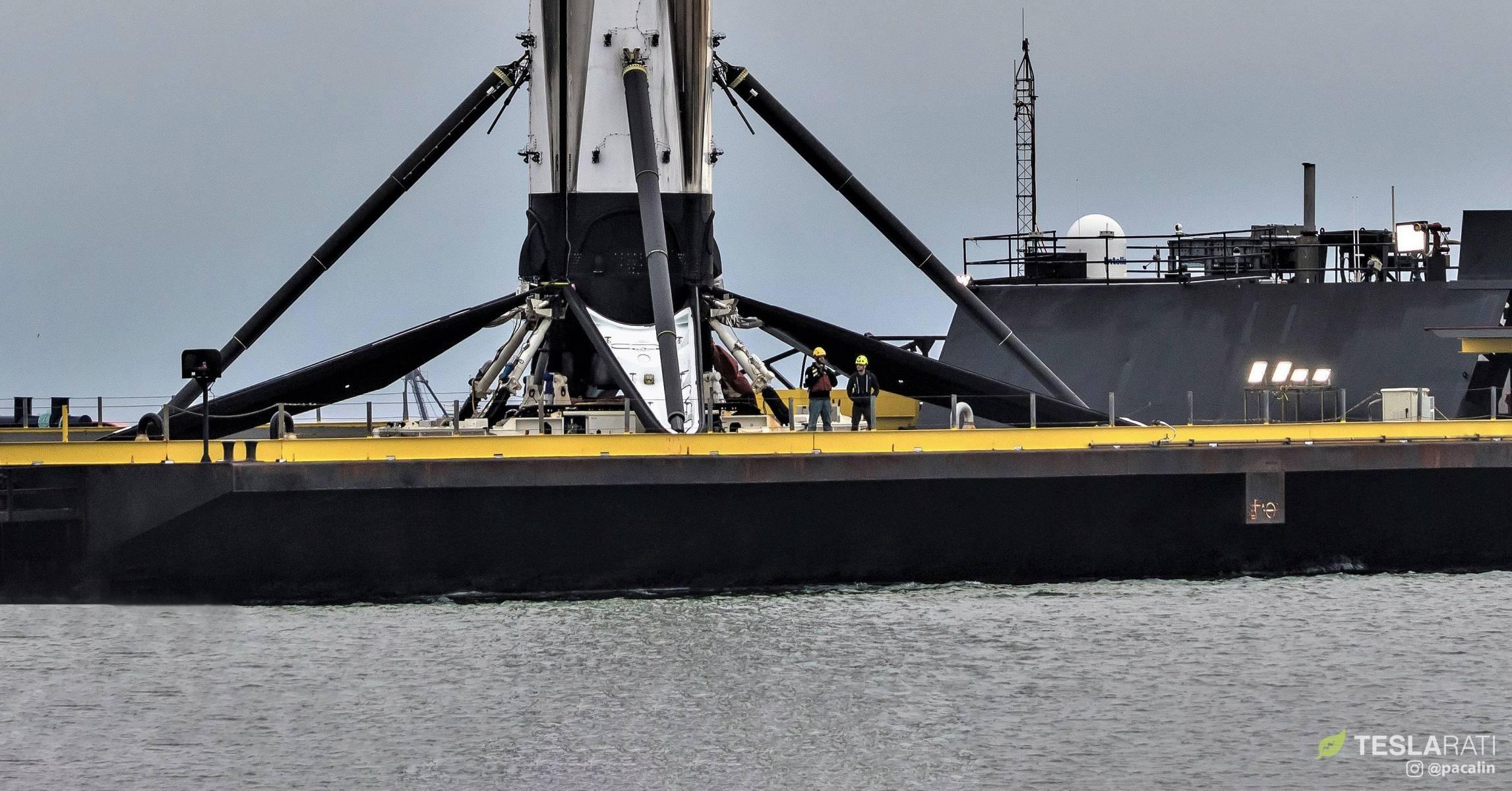 Falcon 9 B1051 DM-1 OCISLY recovery 030519 (Pauline Acalin) 12 crop 2 (c)
