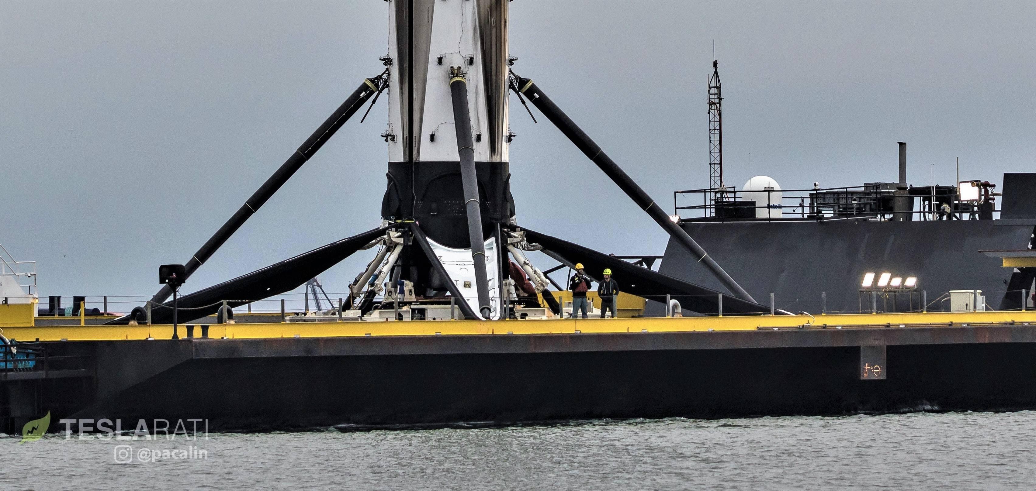 Falcon 9 B1051 DM-1 OCISLY recovery 030519 (Pauline Acalin) 12 crop (c)