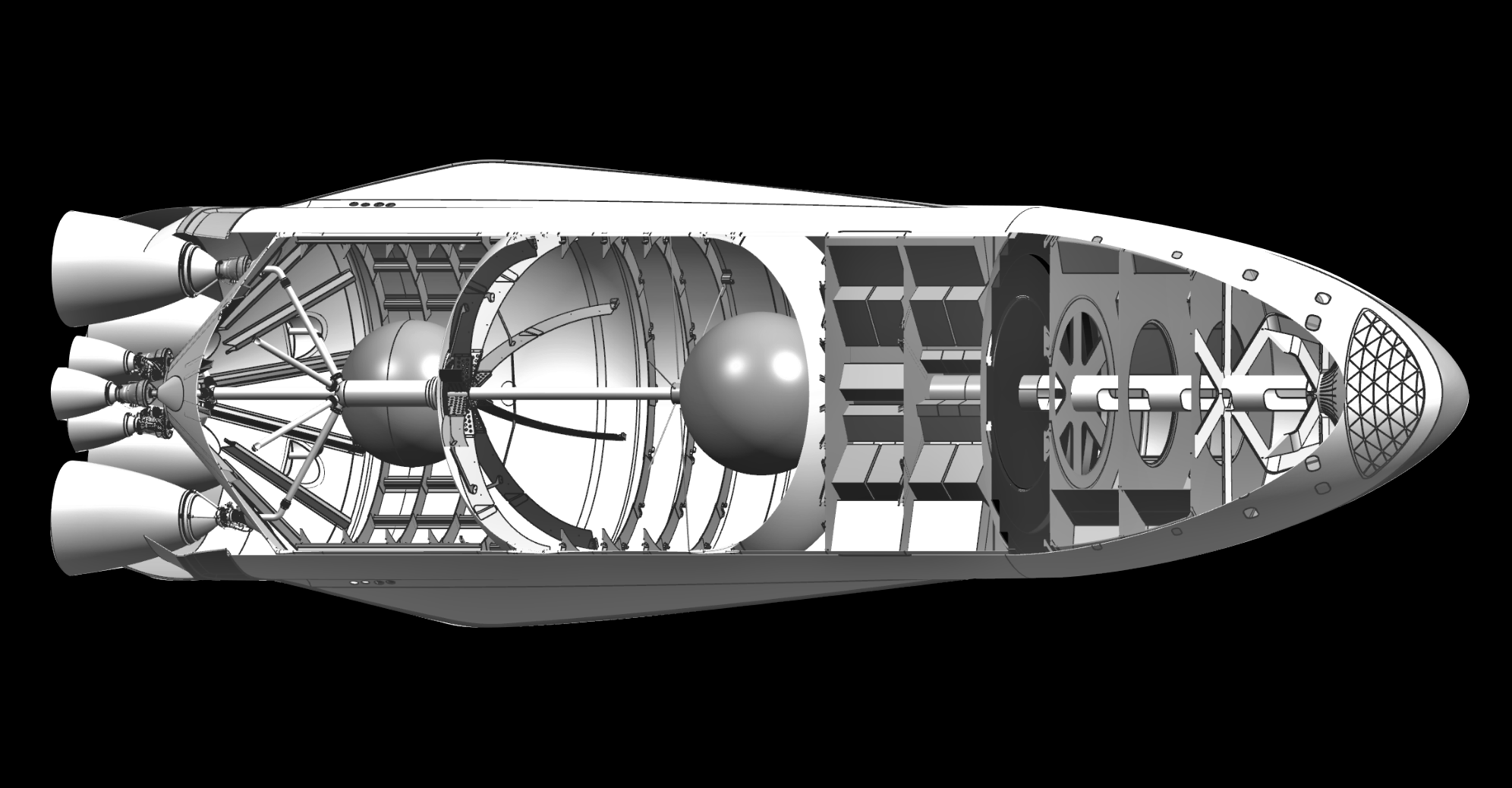 SpaceX's Starship Raptor Vacuum engine plans laid out by CEO Elon Musk