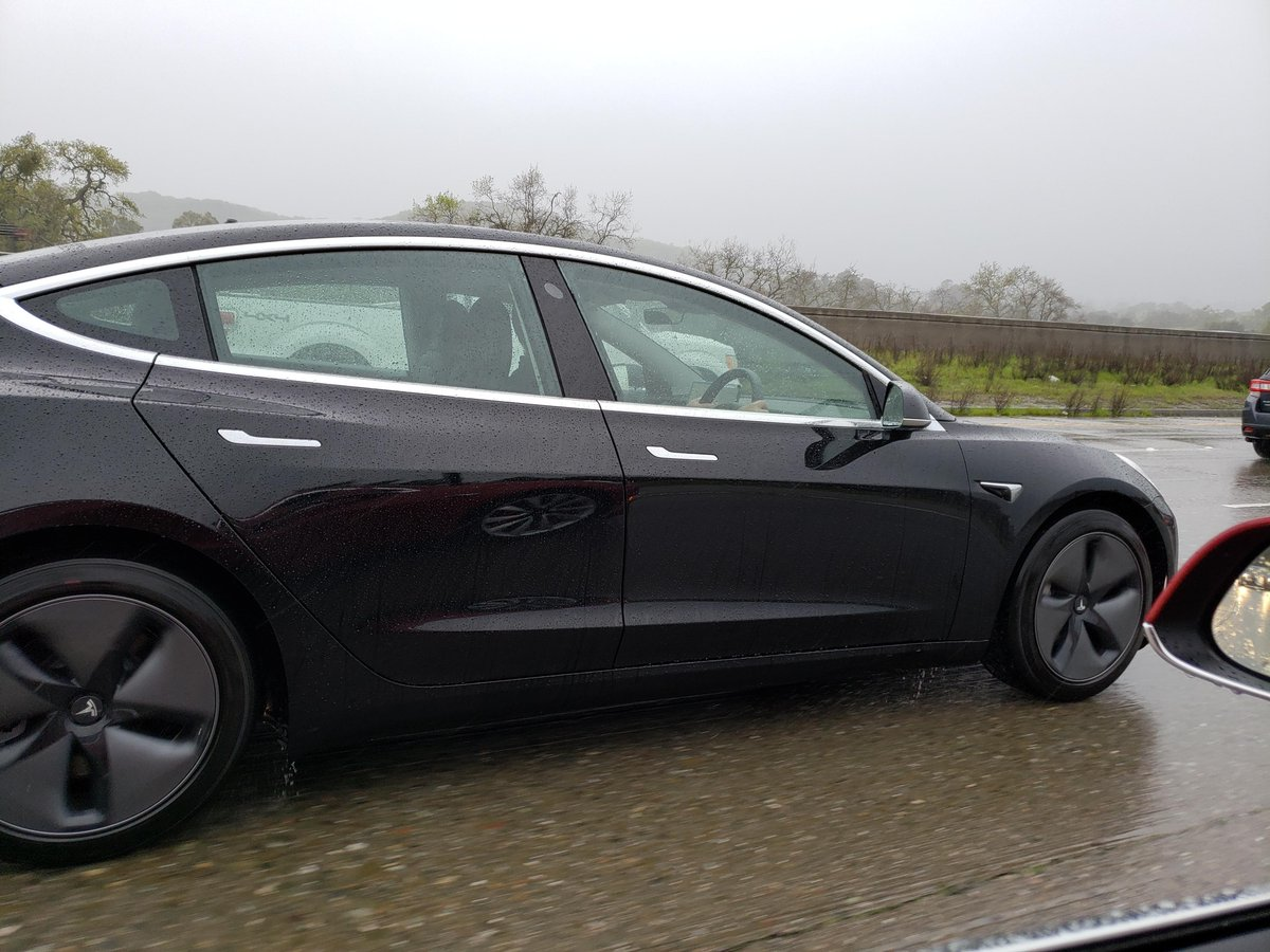 Tesla Model 3 Right Hand Drive Spotted