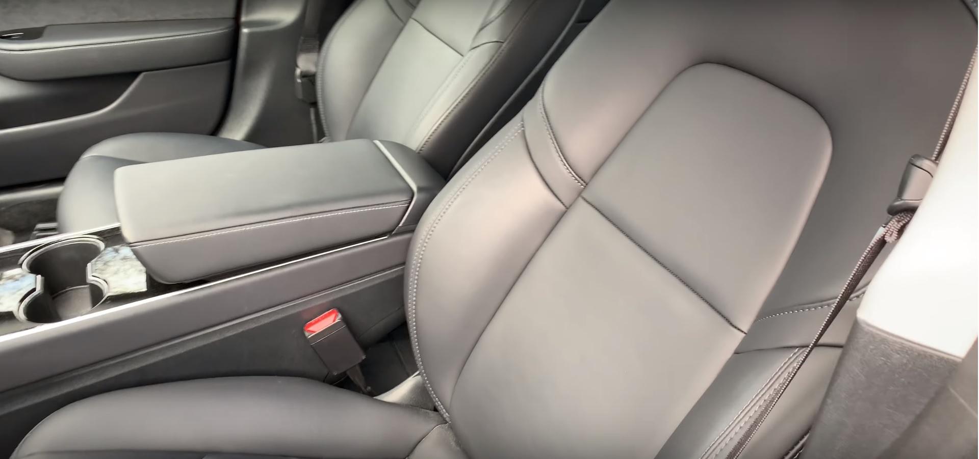 Tesla Model 3 Partial Premium Interior vs  Premium Interior