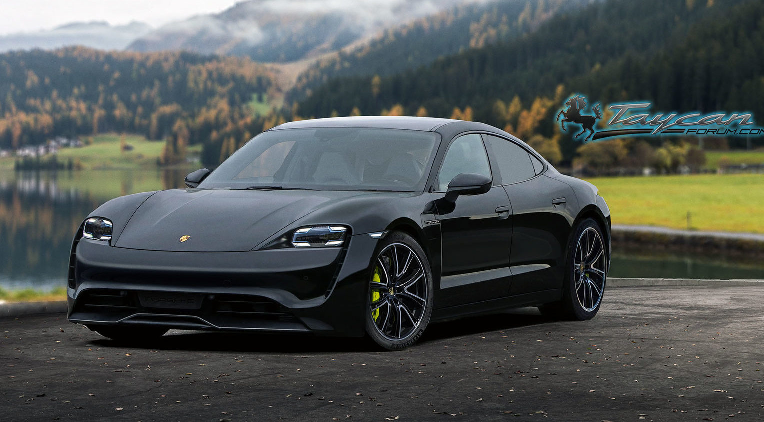 PorscheTaycan_black_front