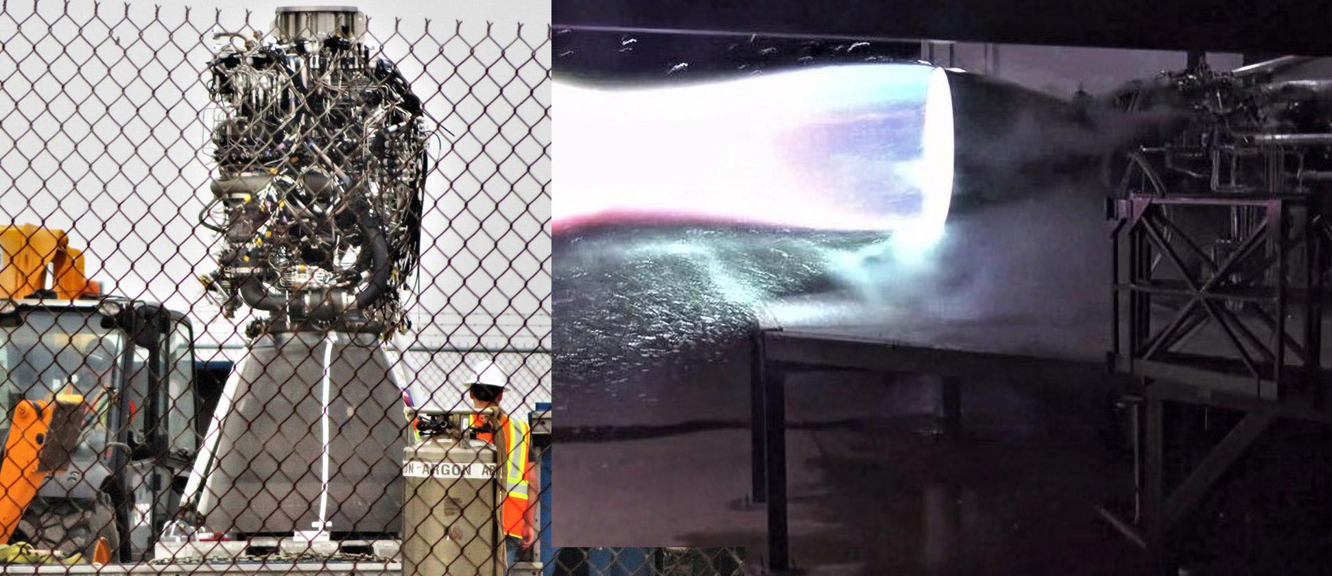 Raptor SN01 static fire + Raptor SN02 Boca Chica arrival 031119 (SpaceX – NASASpaceflight – bocachicagal) 2