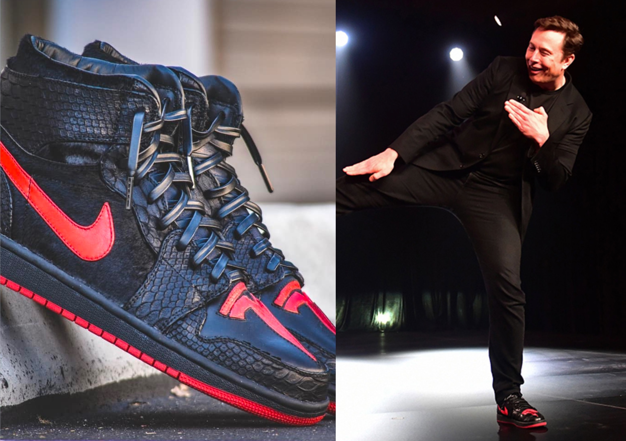 """best loved 4c25a 020a8 Creator of Elon Musk s """"Tesla shoes"""" opens up about his now famous footwear"""
