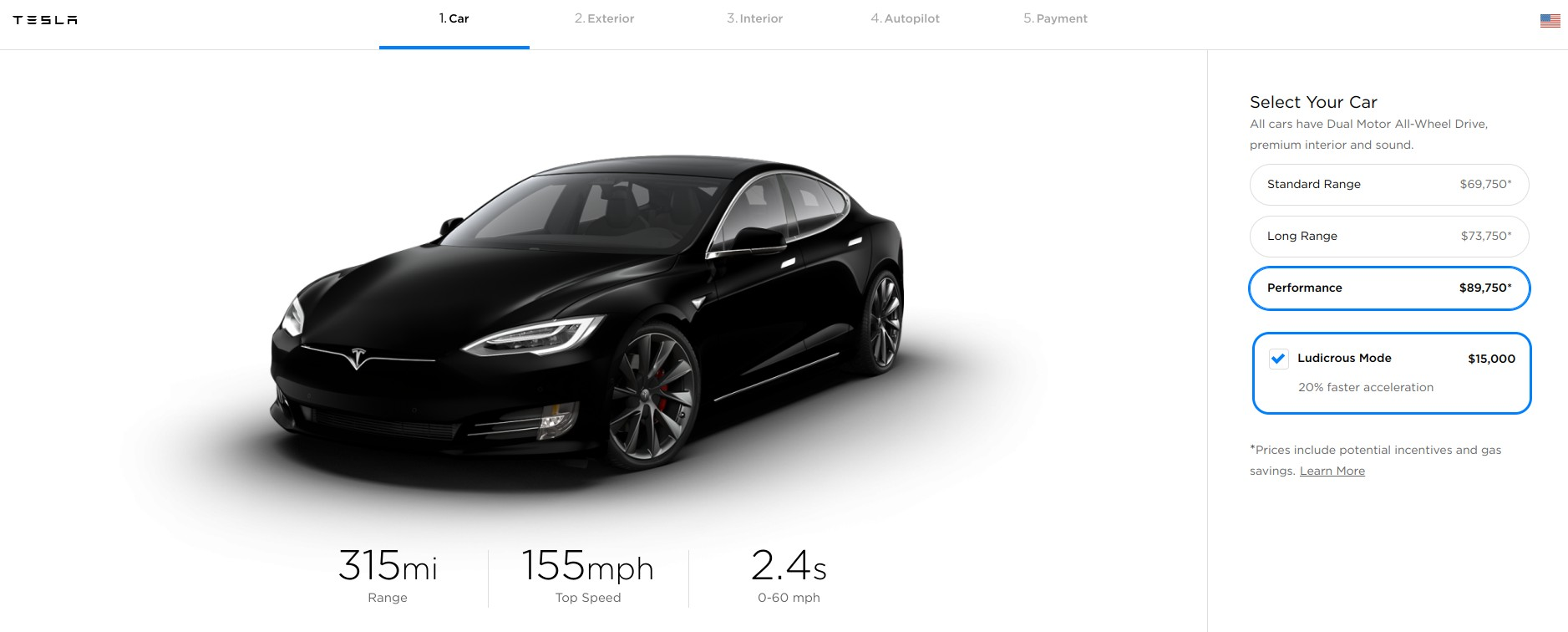 Tesla Lowers Model S And Model X Price Standardizes Battery Pack Strategy