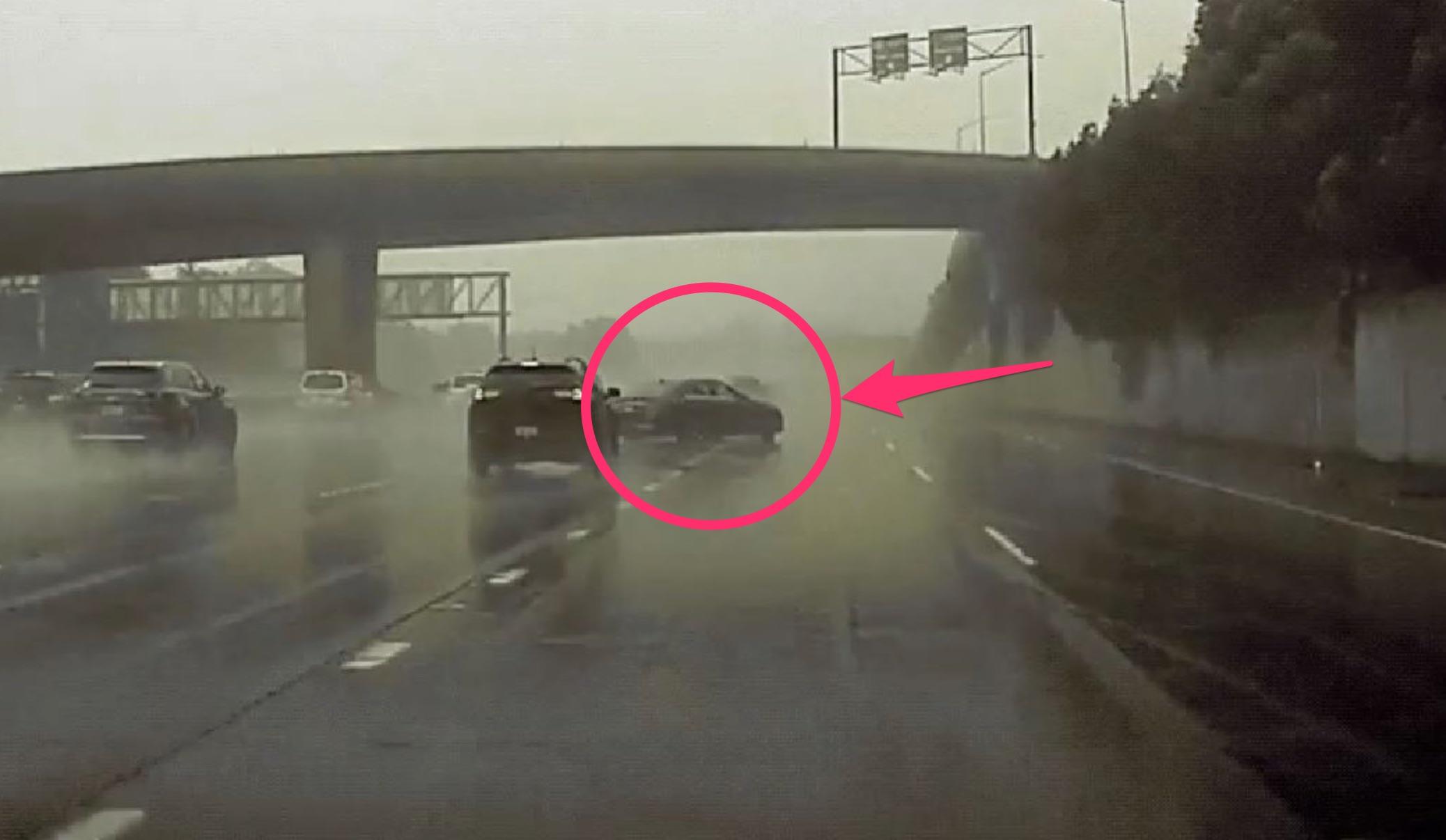 tesla-dashcam-footage-rain-accident
