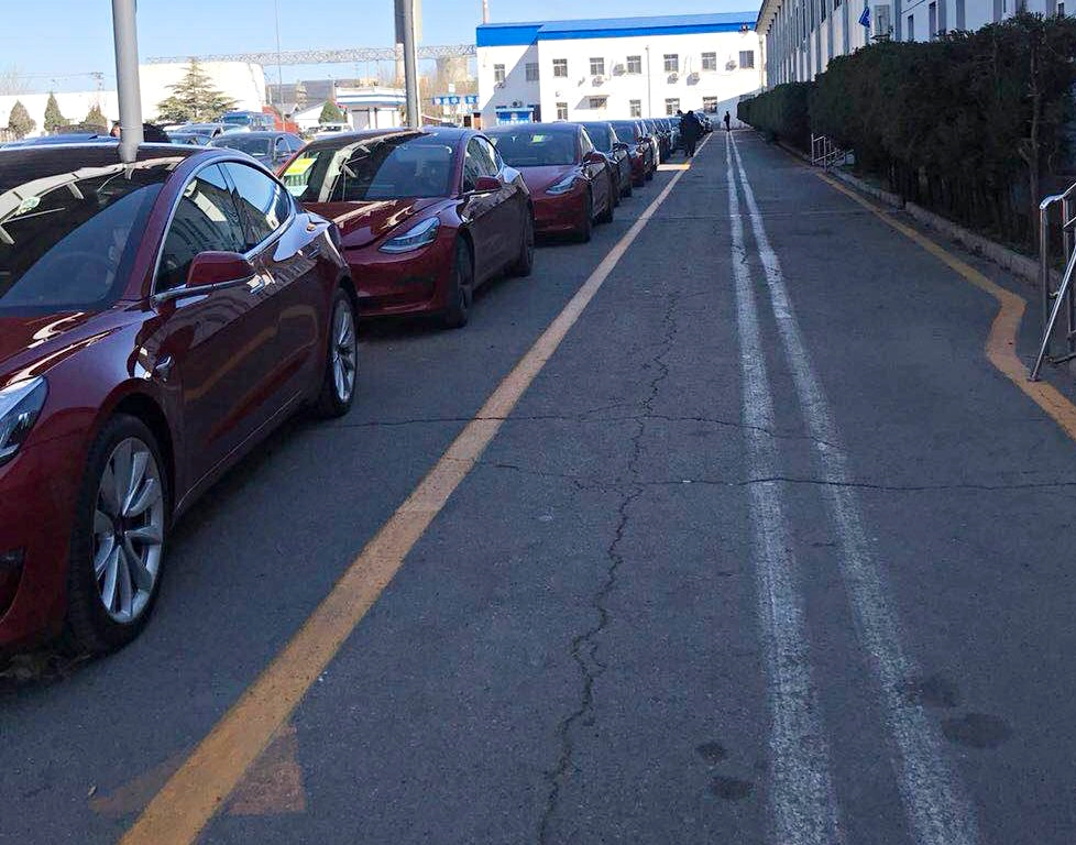 Tesla owners flood DMV in China as Model 3 deliveries continue to surge