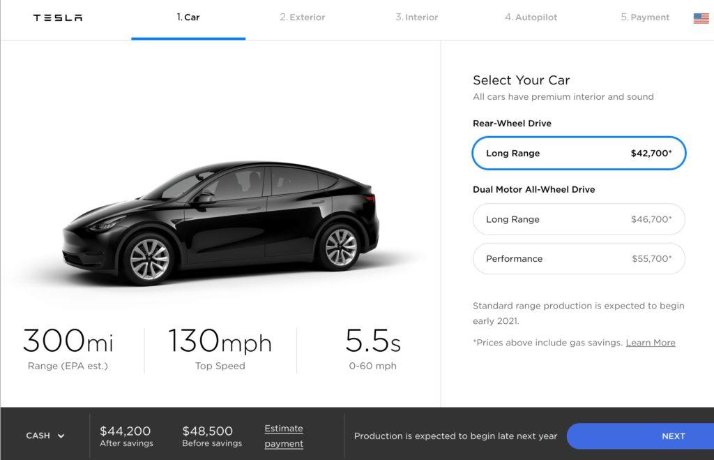 Tesla Model Y gets