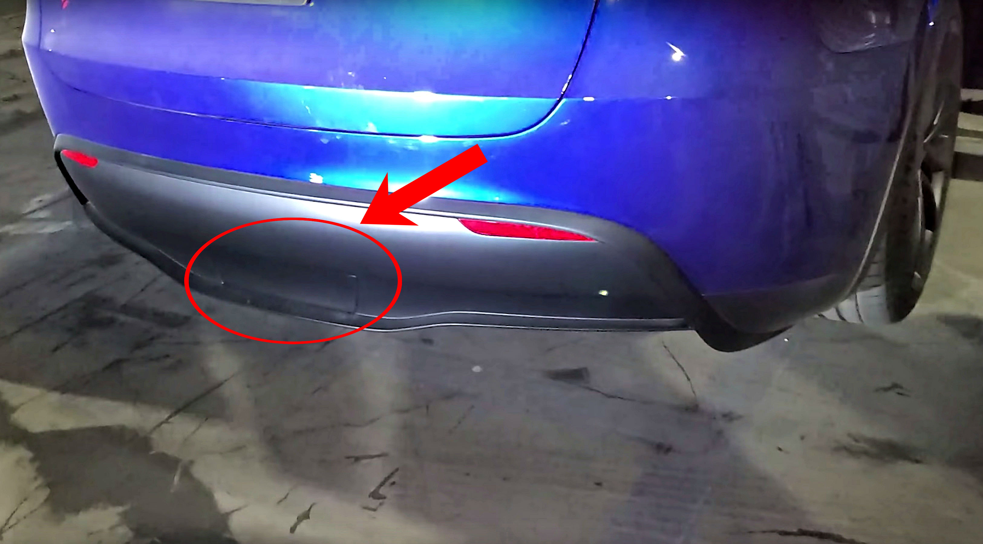 Tesla Model Y Towing Capability Teased With Rear Cover Plate For Hitch Receiver