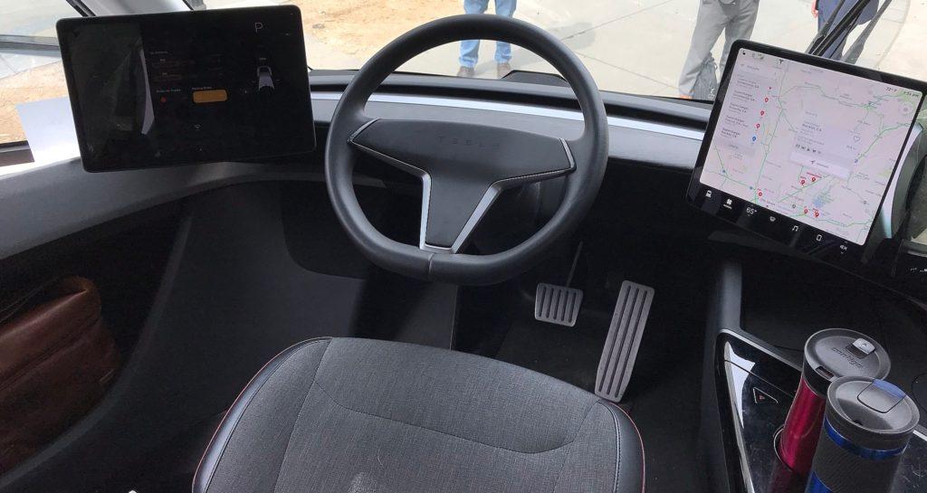 Tesla Model 3 >> Tesla Semi cockpit details revealed in clearest interior ...