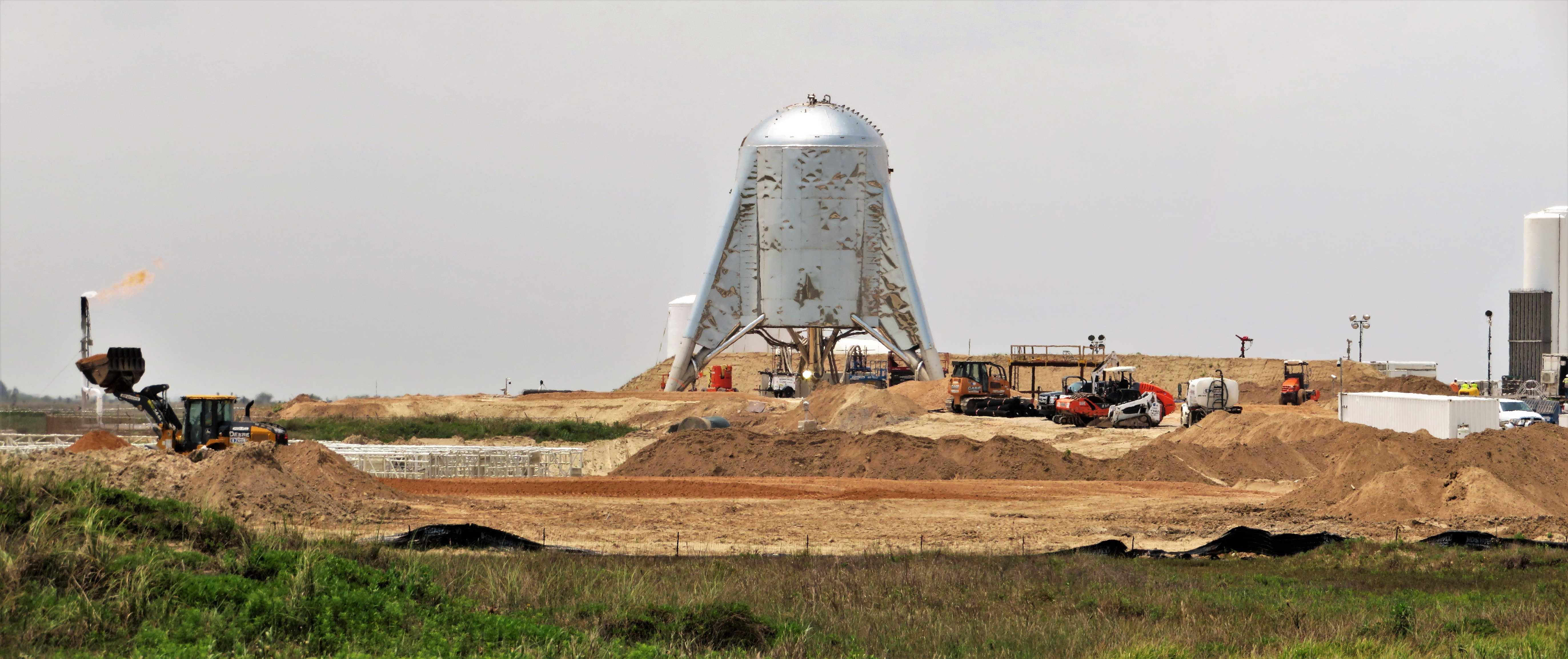 SpaceX wants to unleash Starhopper but longer Raptor test