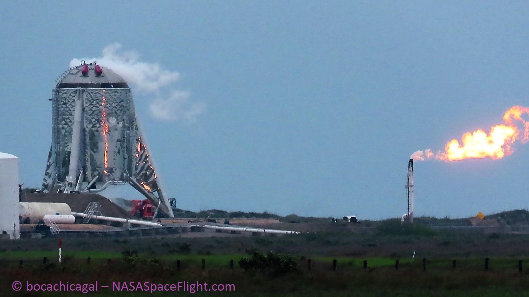 Boca Chica Starhopper testing 040119 (NASASpaceflight – bocachicagal) 3
