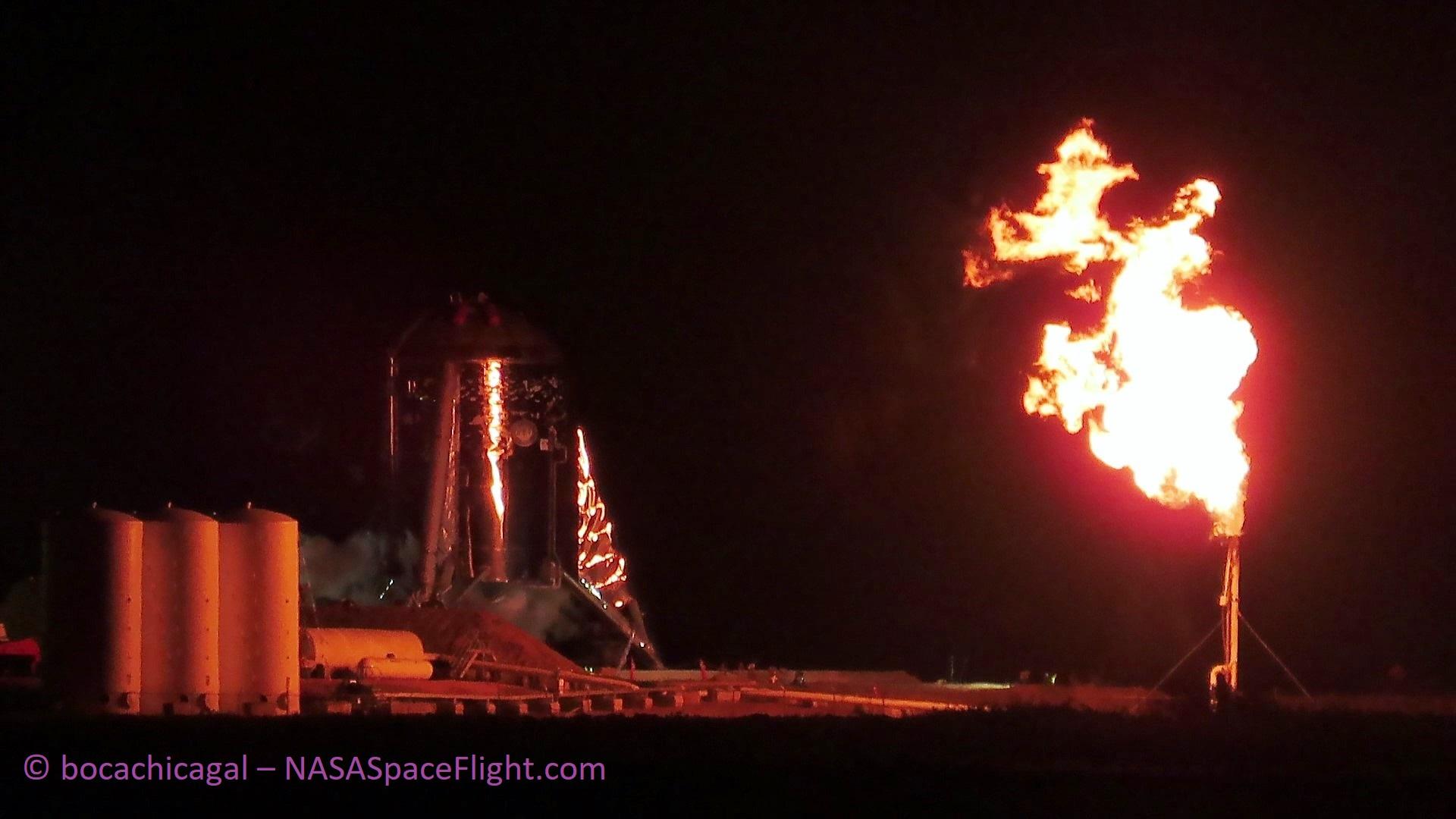 Boca Chica Starhopper testing 040219 (NASASpaceflight – bocachicagal) 1