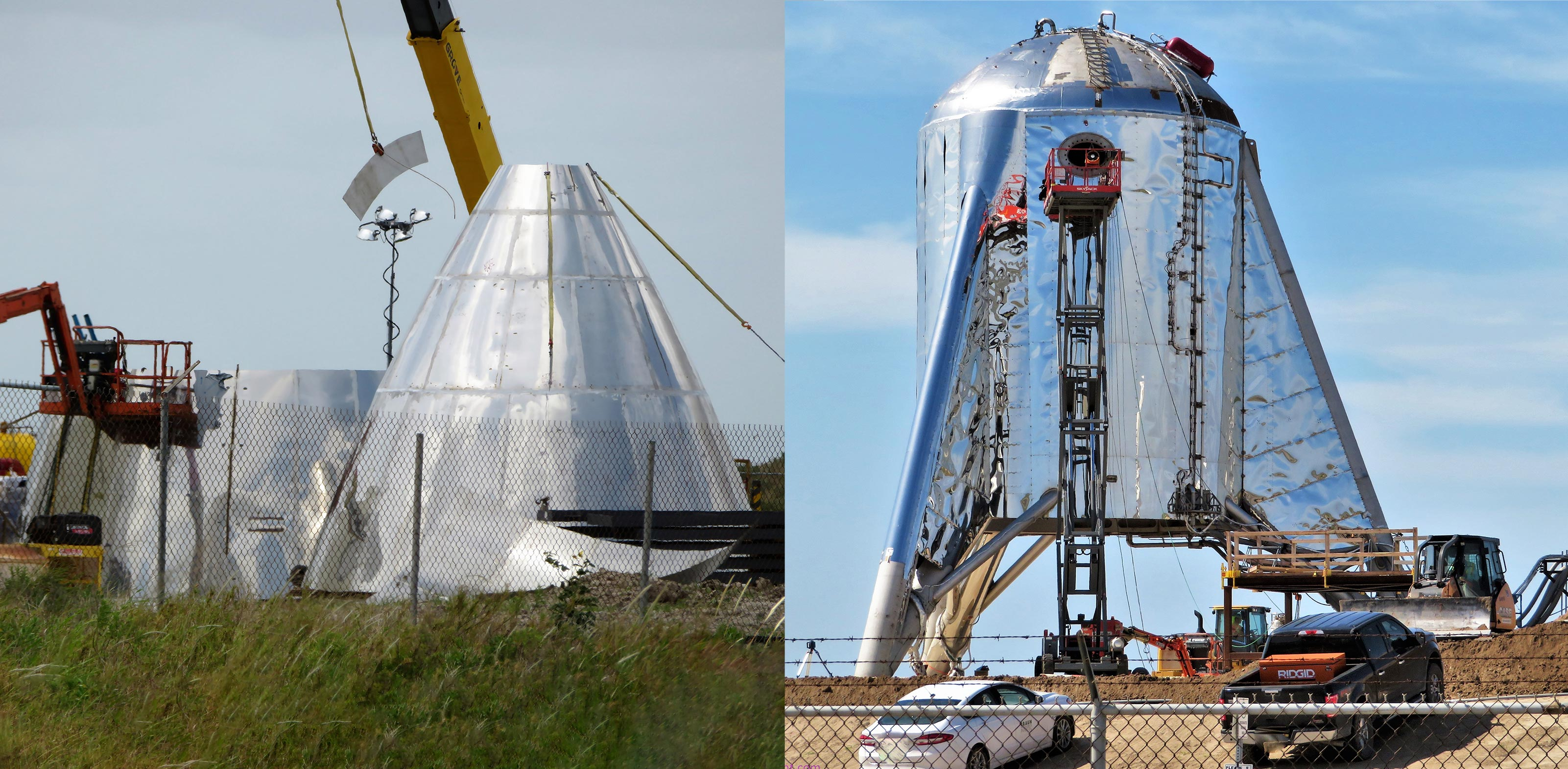 Spacex S Starship Starhopper Prototypes Continue Slow And