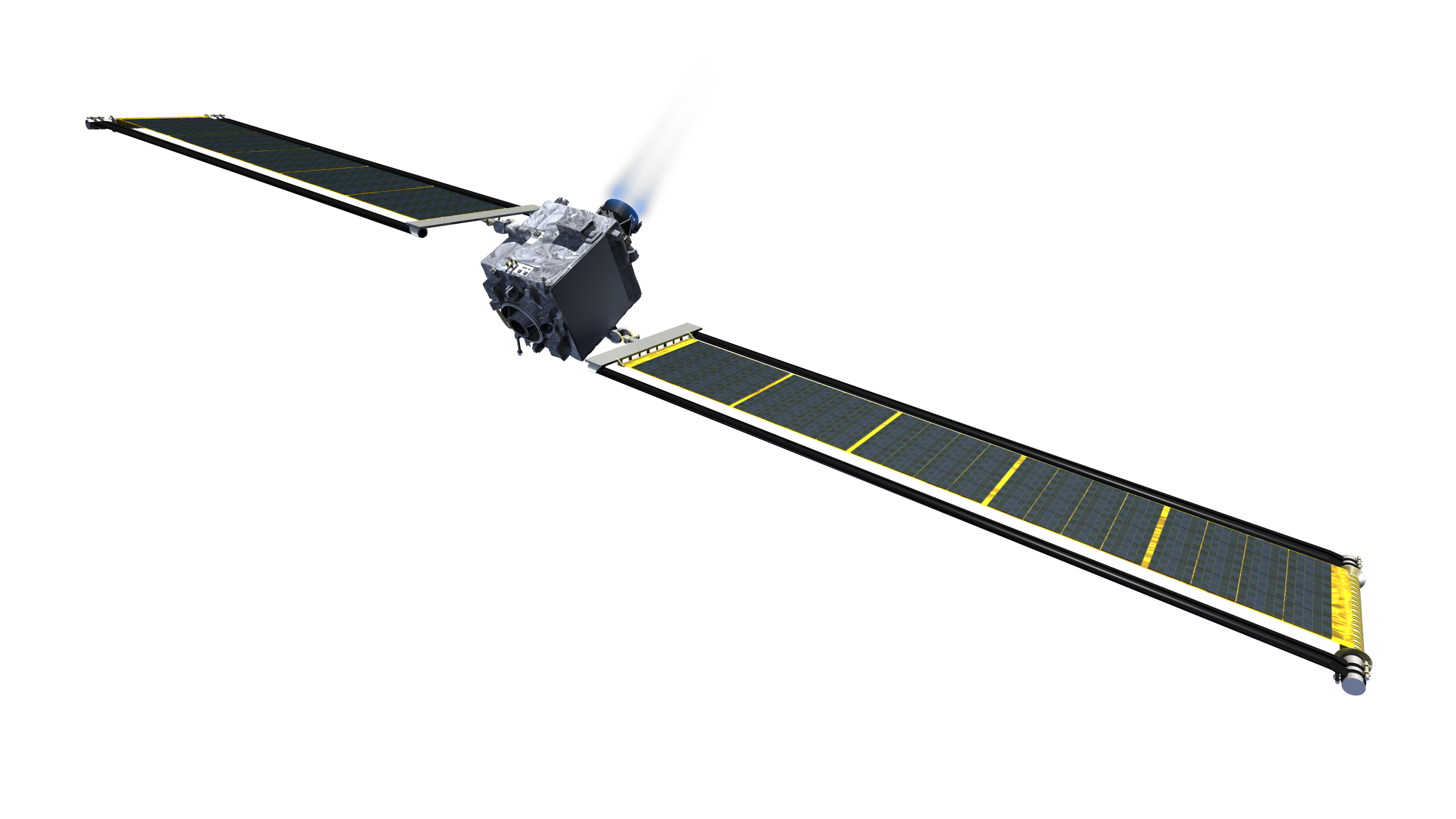 DART spacecraft overview (NASA – JHUAPL) 1 (c)