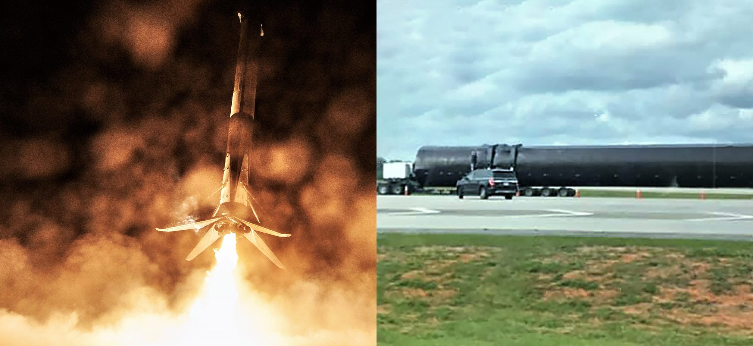 Falcon 9 B1051 OCISLY landing and transport (Joshuah Murrah & SpaceX) 1