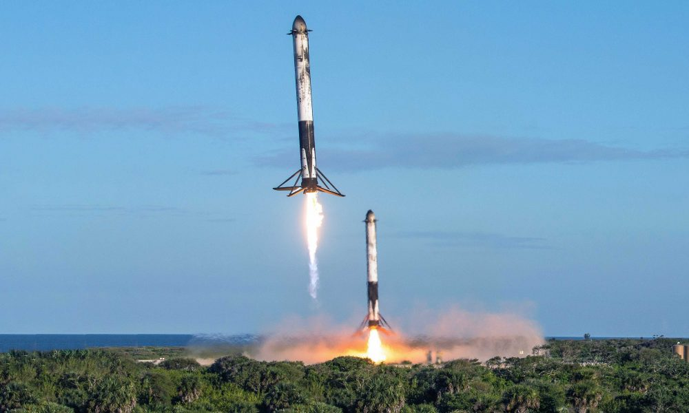 Spacex S Flawless Falcon Heavy Block 5 Launch And Landing