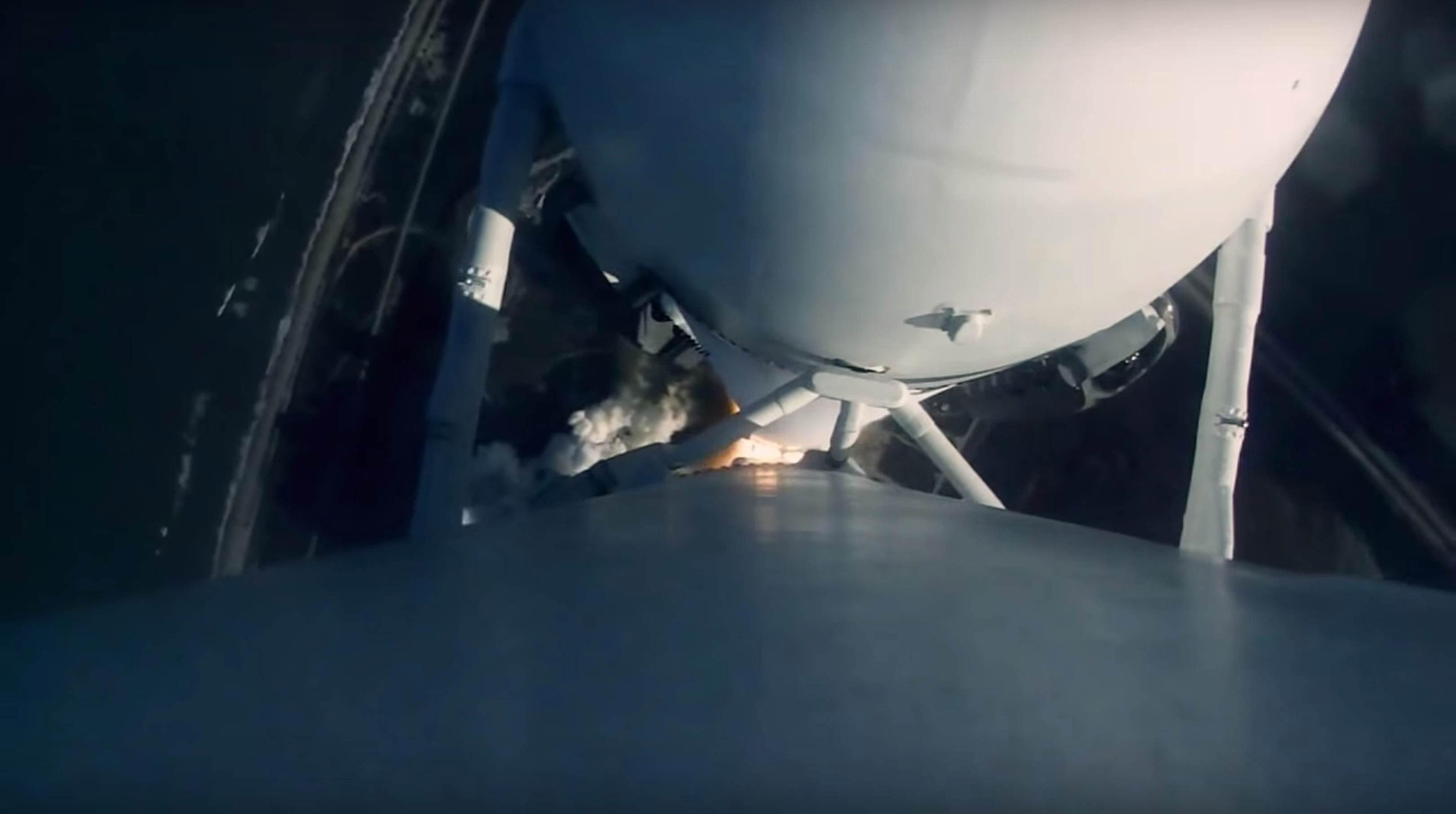 Falcon Heavy Flight 1 liftoff (SpaceX) 6
