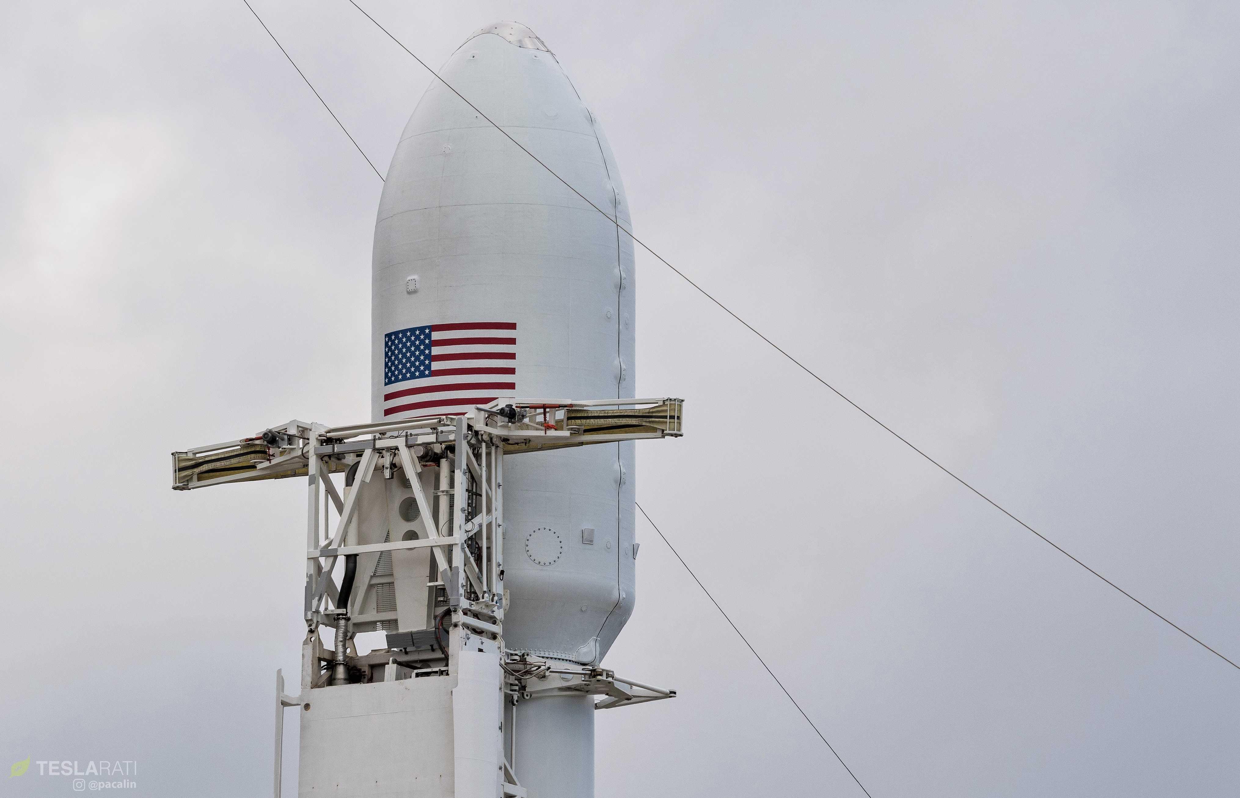 Falcon Heavy Flight 2 prelaunch 39A (Pauline Acalin) (9) (c)