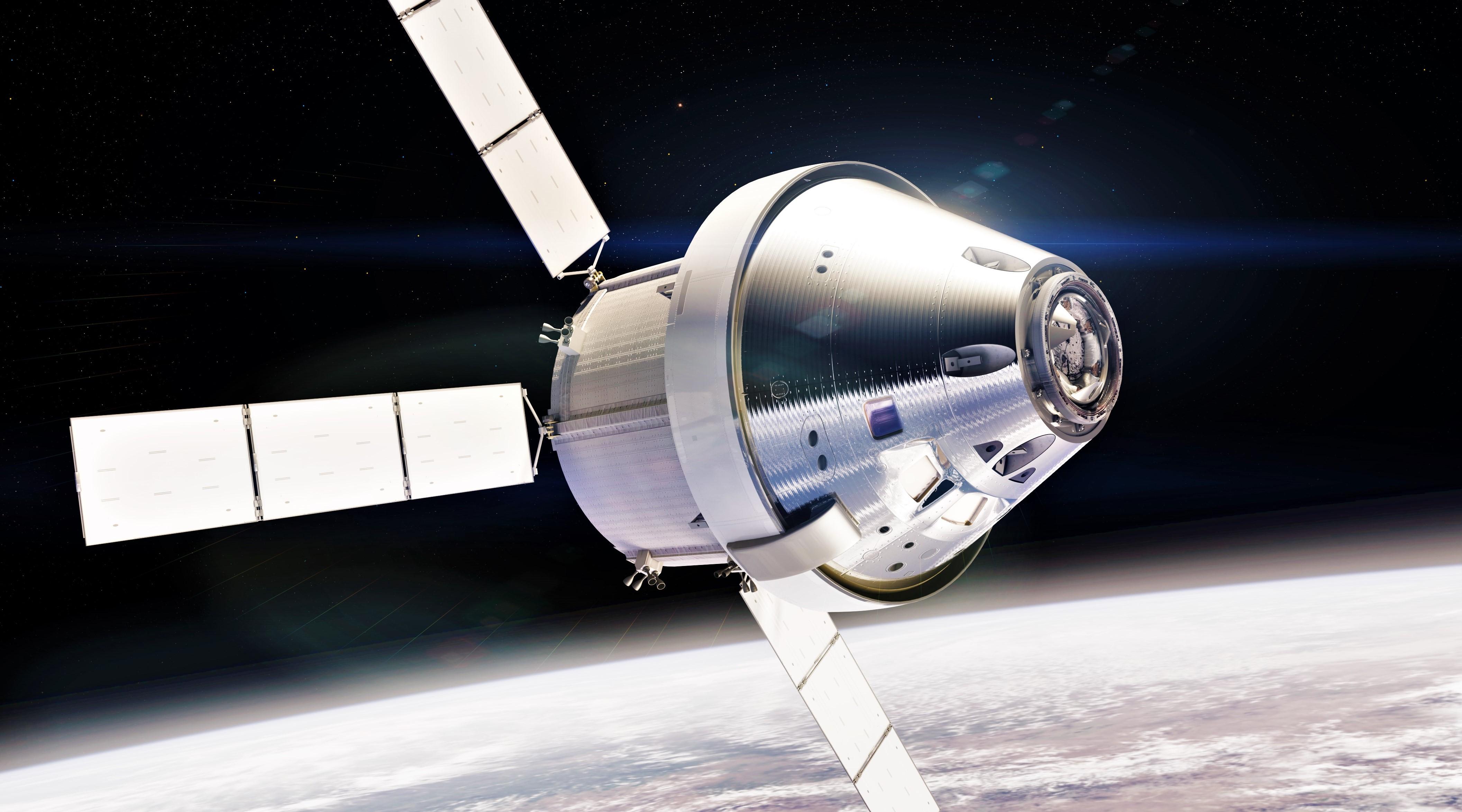 Orion ESM LEO render (NASA) 1 edit