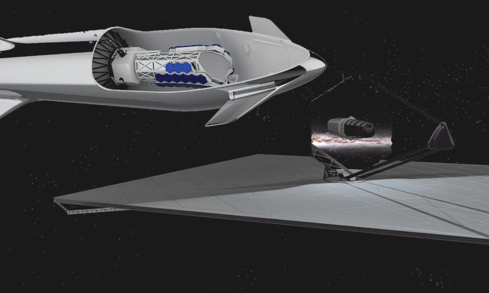 Spacex S Steel Starship Gets New Official Render This