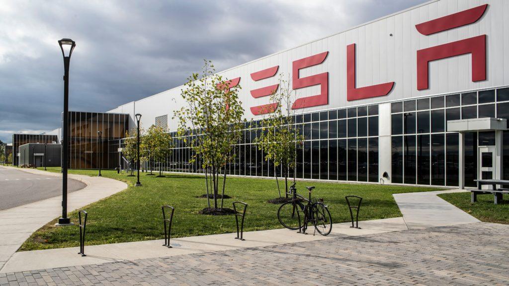 Tesla Giga New York awakens as Elon Musk's Solarglass Roof push goes underway