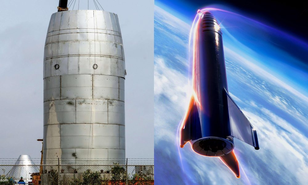 Spacex Stacks Orbital Starship Sections As Elon Musk