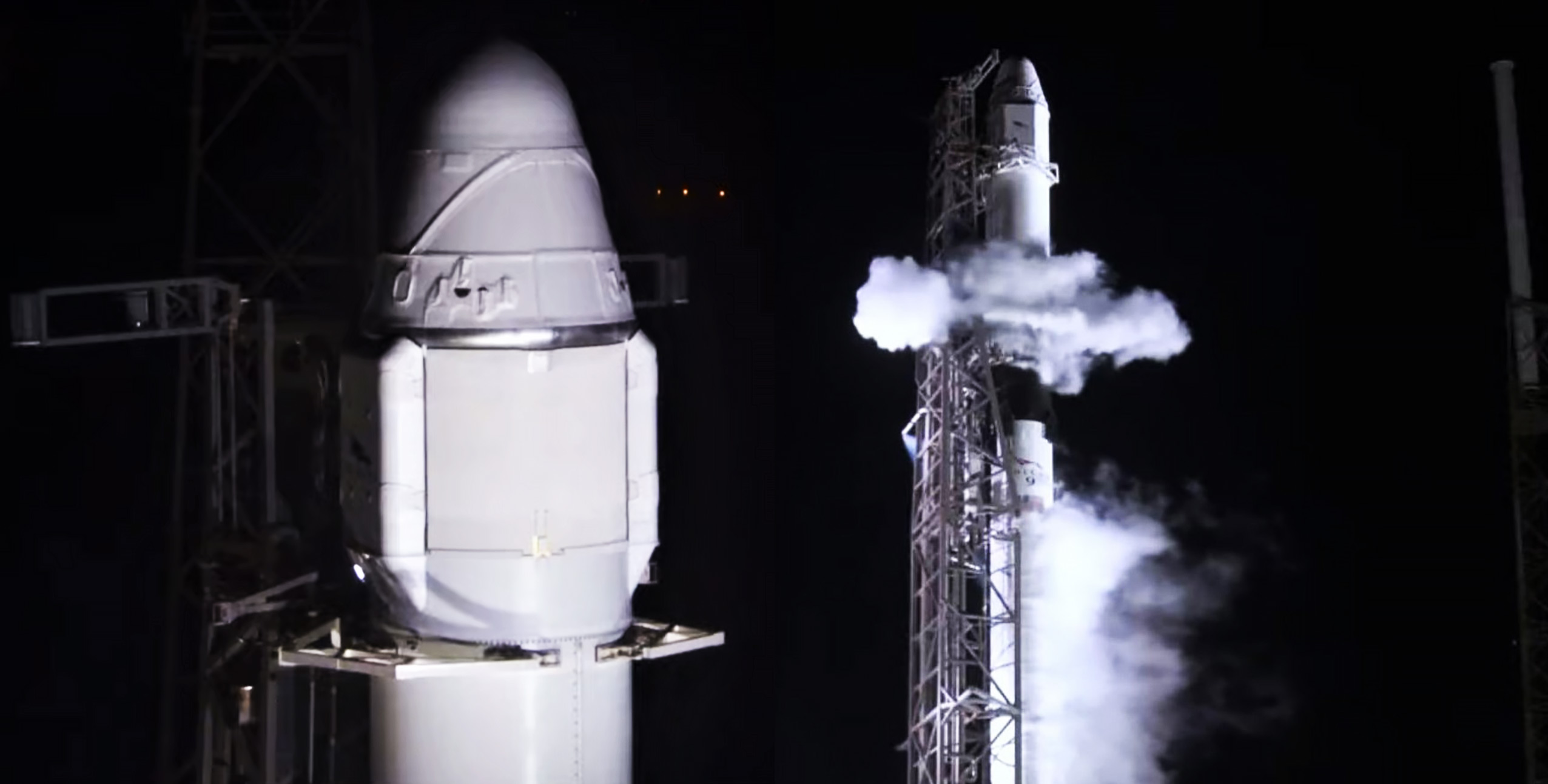 Spacex Scrubs Cargo Dragon Falcon 9 Launch Due To Drone