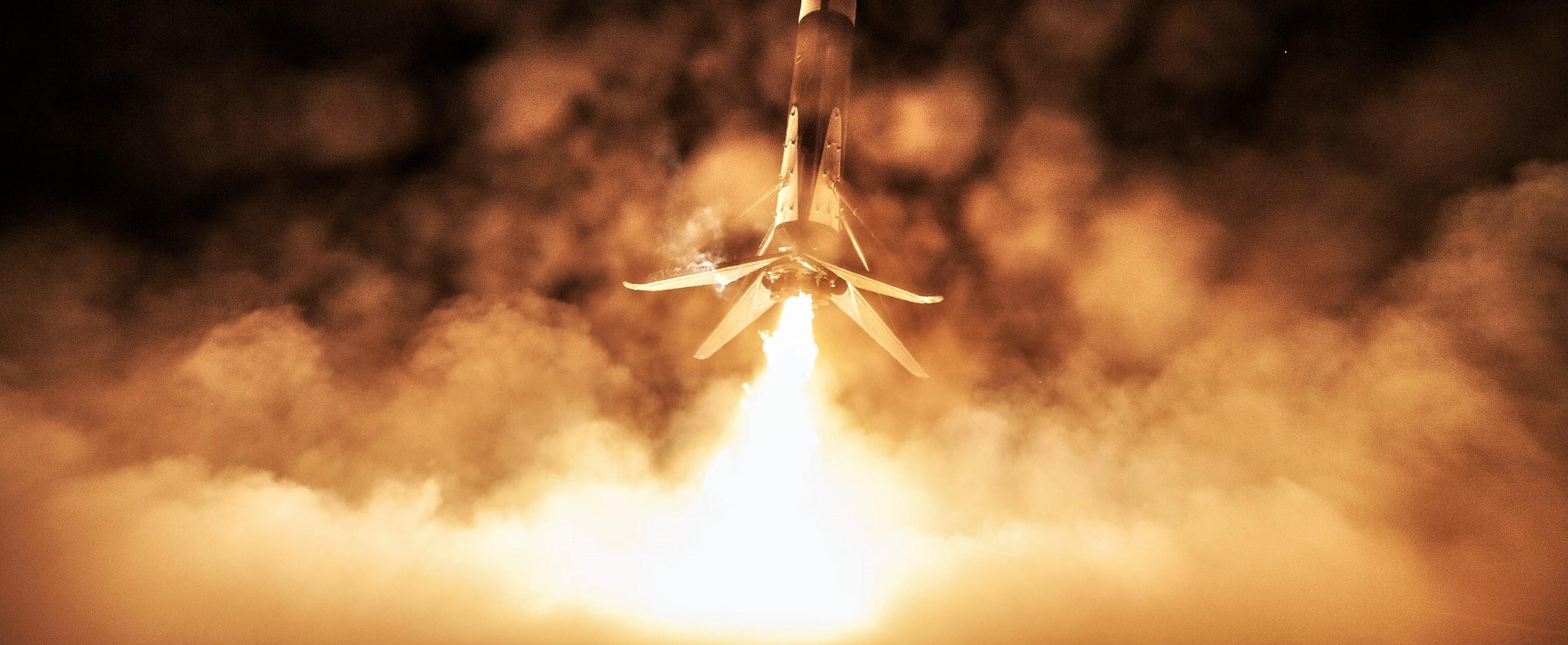 Falcon 9 B1051 DM-1 OCISLY landing (SpaceX) 1 crop