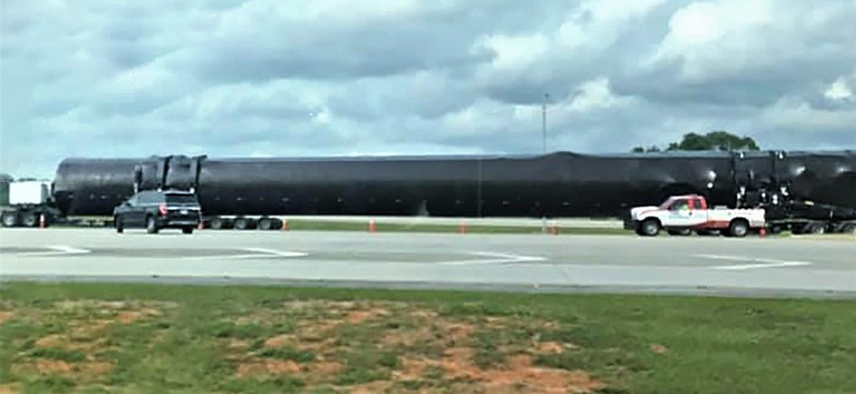 Falcon 9 B1051 westbound Florida 042619 (Joshuah Murrah – Facebook) 1 edit