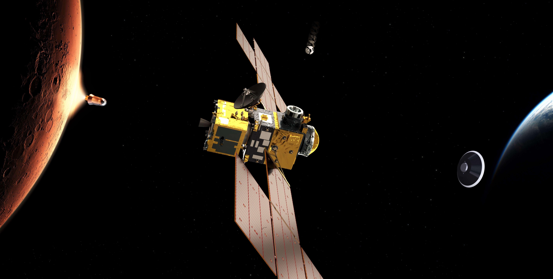 Mars sample return orbiter (ESA) render overview 1 edit