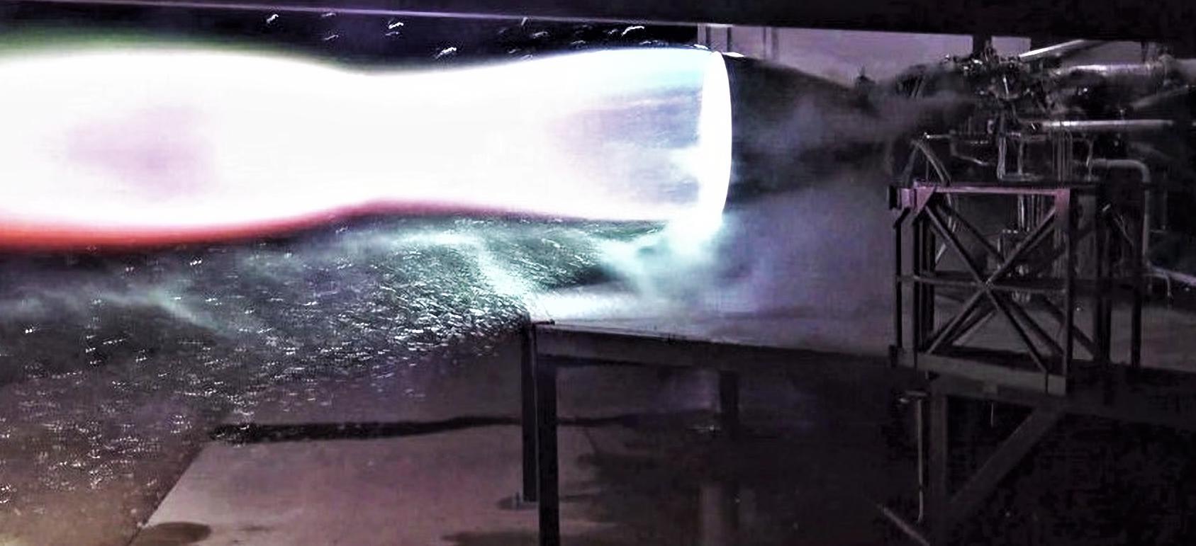 Raptor 1.0 static fire success 020319 (SpaceX) 2 2X edit