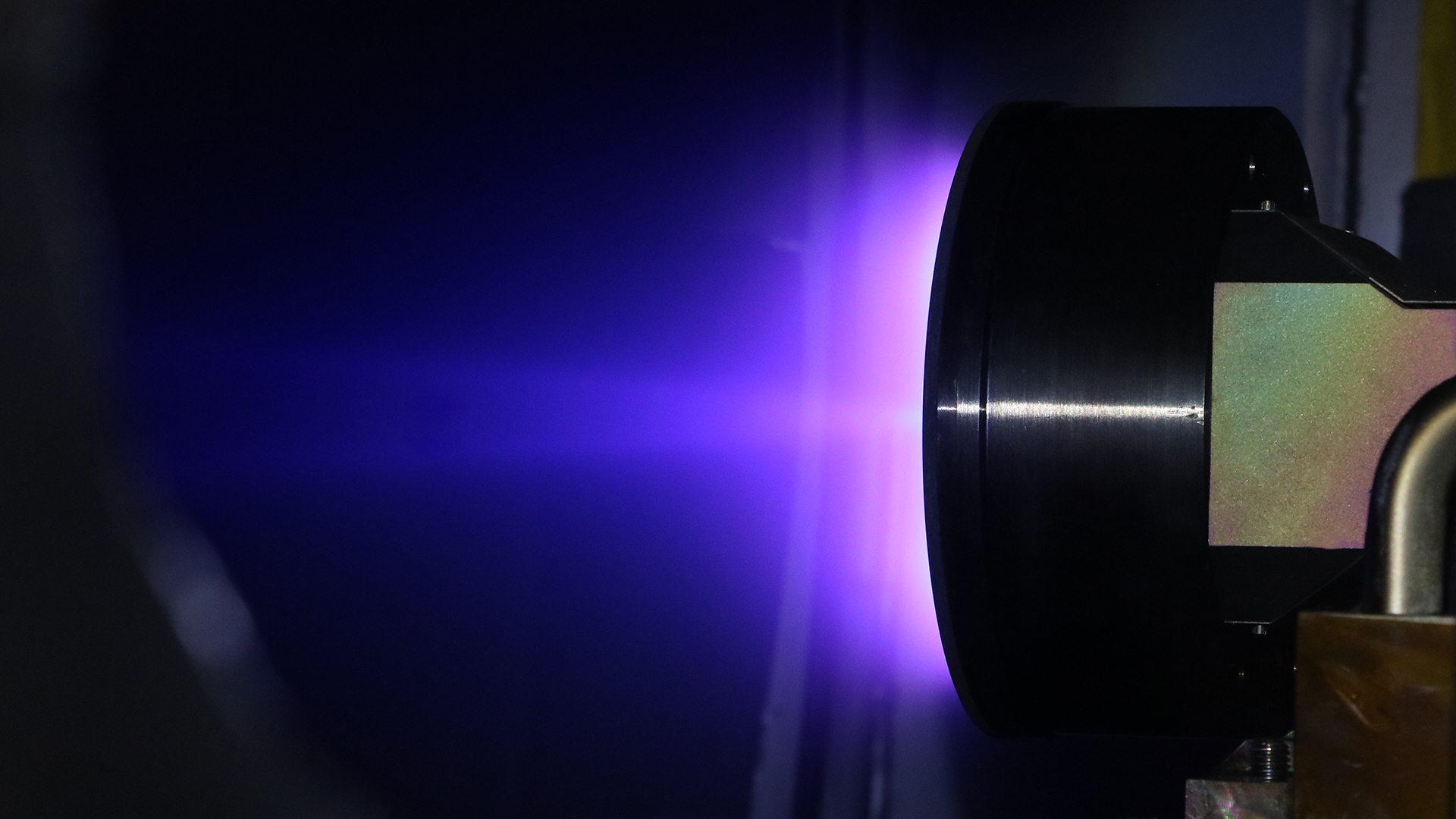 Starlink krypton ion thrusters (SpaceX) testing 1
