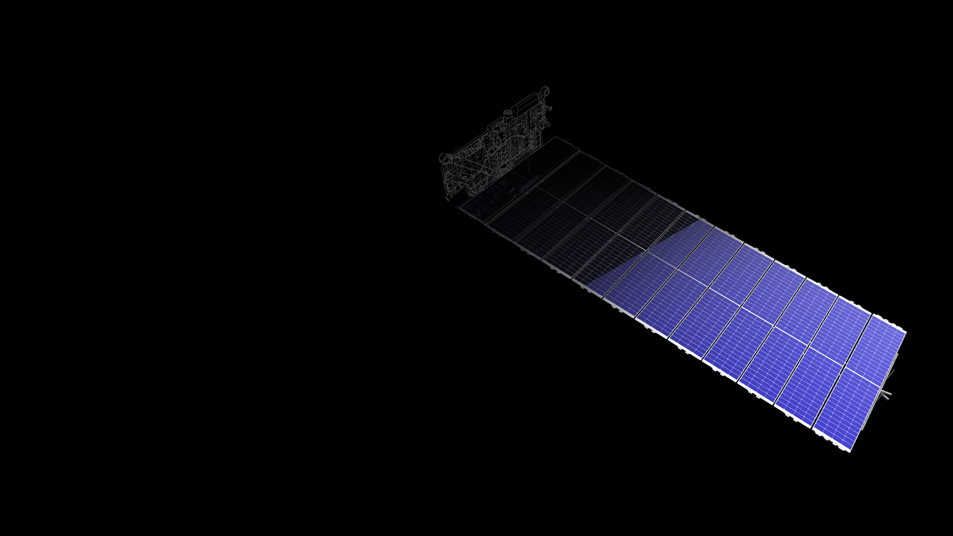 Starlink solar array (SpaceX) 1