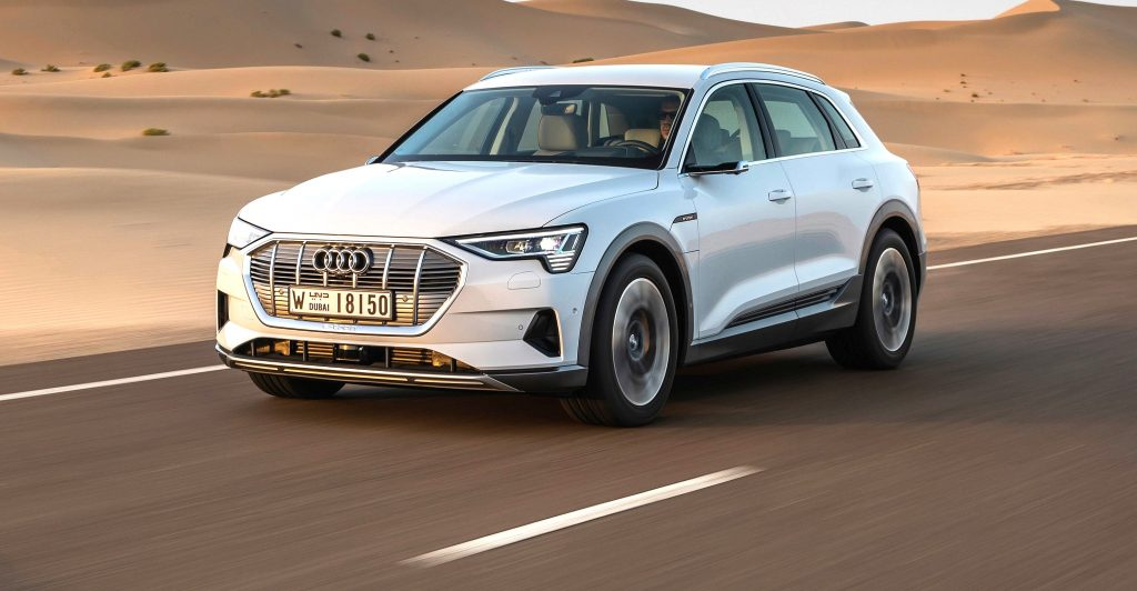 Audi e-tron navigation system provides detailed petrol information to drivers