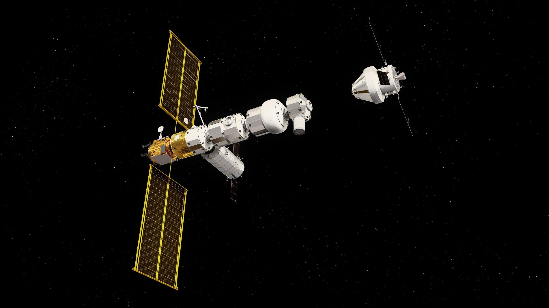lunar gateway NASA (ESA) render 1 (c)