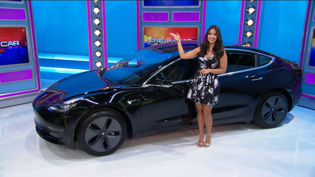 price is right car giveaway tesla model 3 on flipboard electric vehicles tesla 2735