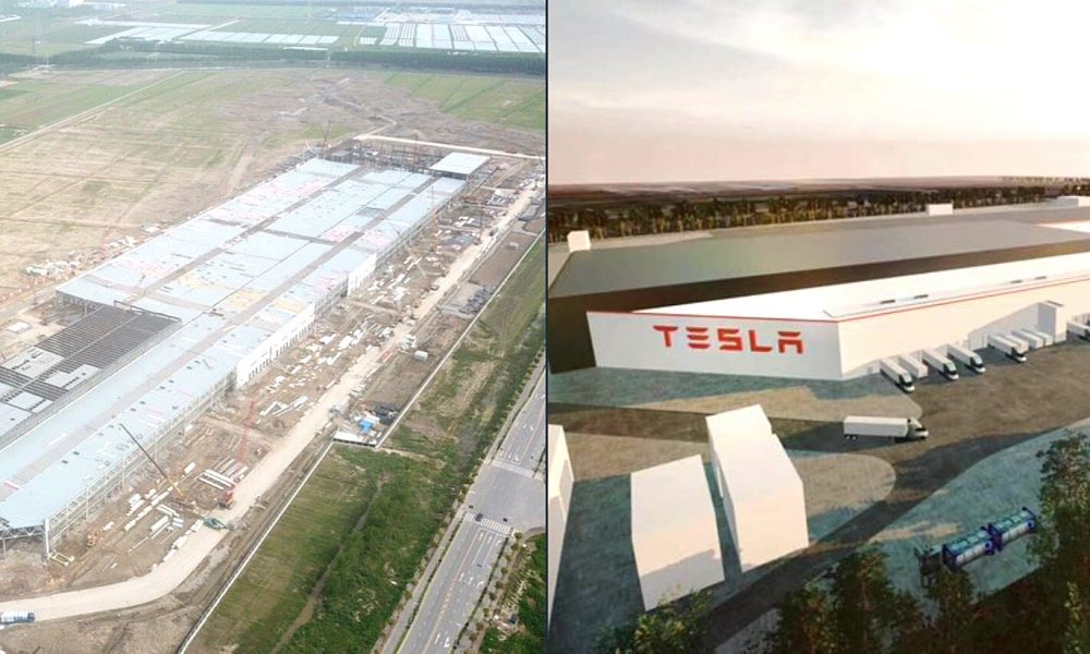 Tesla S Giga 3 Factory Shell Takes Shape As China Works