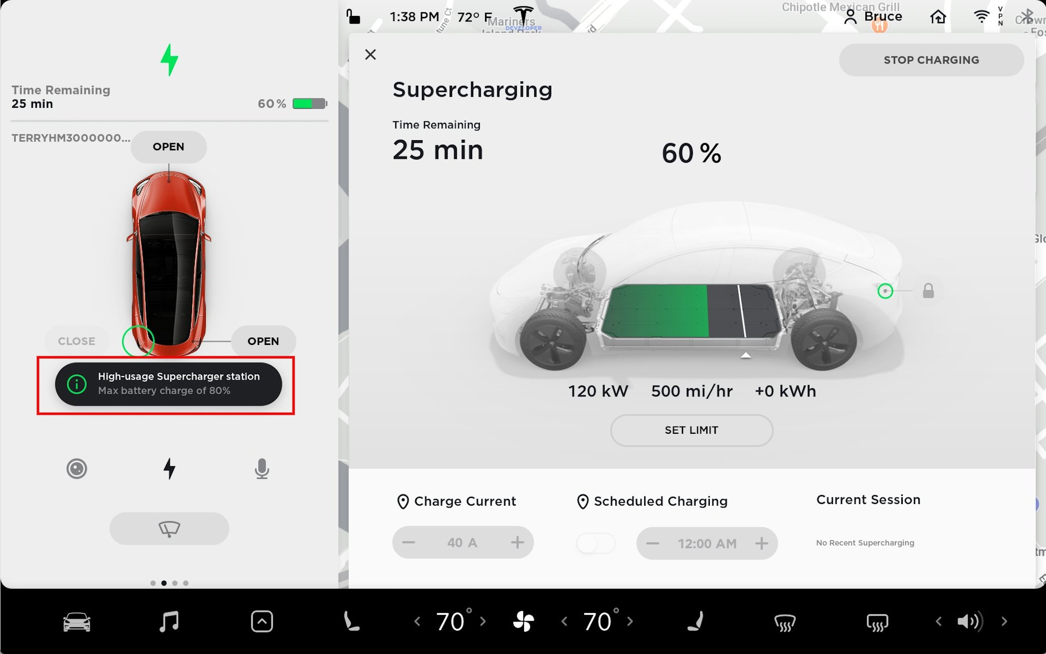 Tesla to cap battery at 80% charge in high-usage ...