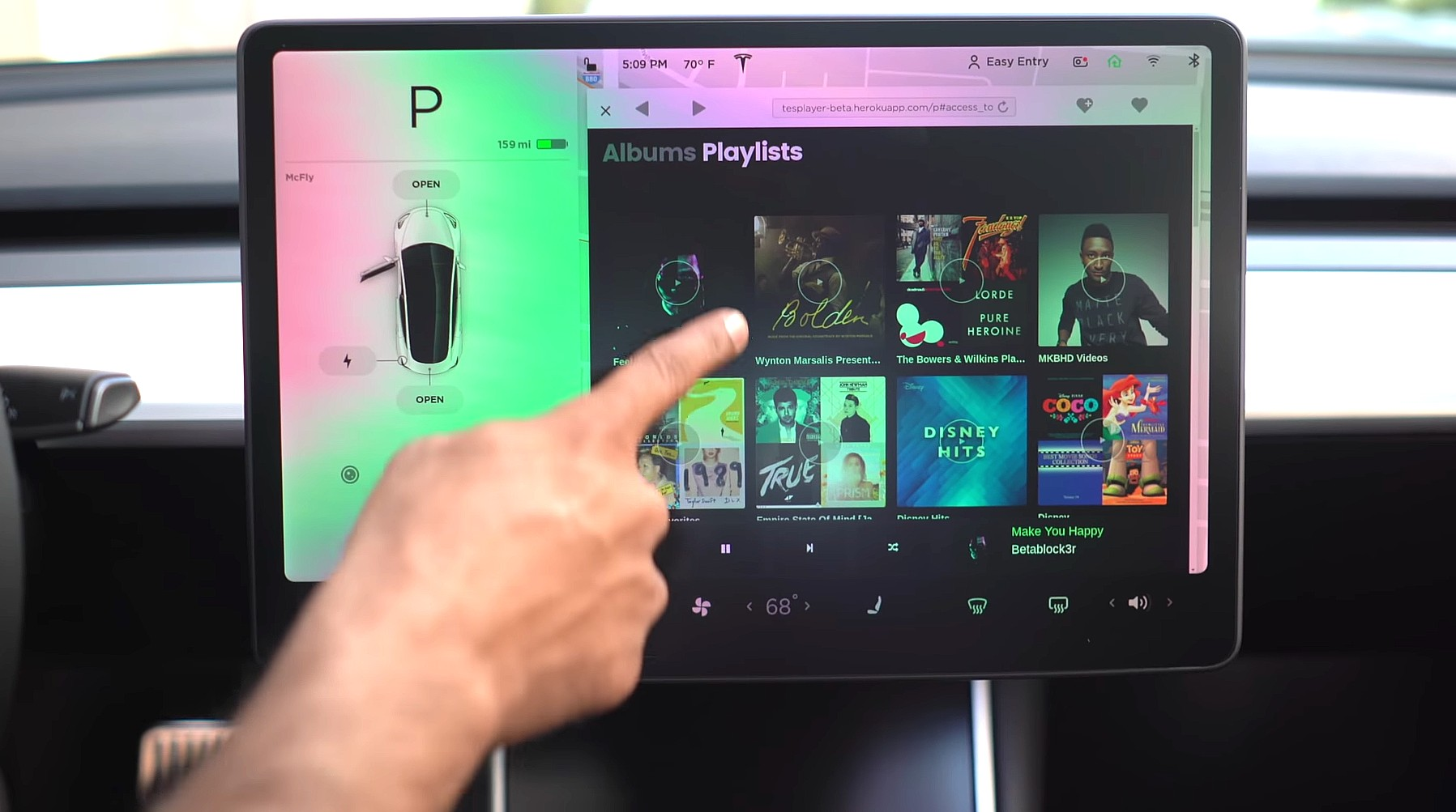 TesPlayer brings Spotify access to Tesla Model S, 3, X owners