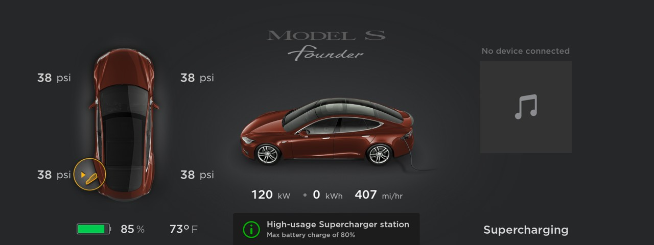 Tesla to cap battery at 80% charge in high-usage Supercharger stations to increase site throughput