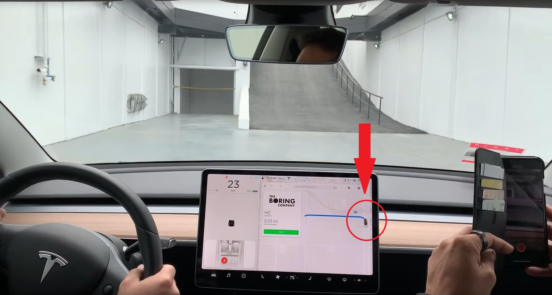 Tesla Model 3 zips through Boring Co. tunnel at 116 mph in latest video