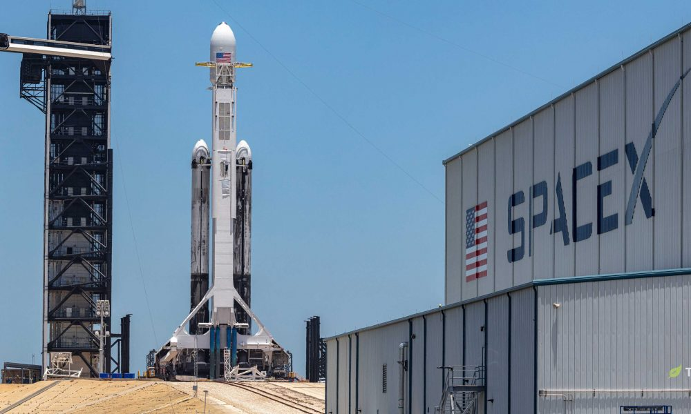 SpaceX's Falcon rockets might need a giant tower on wheels for US military launches